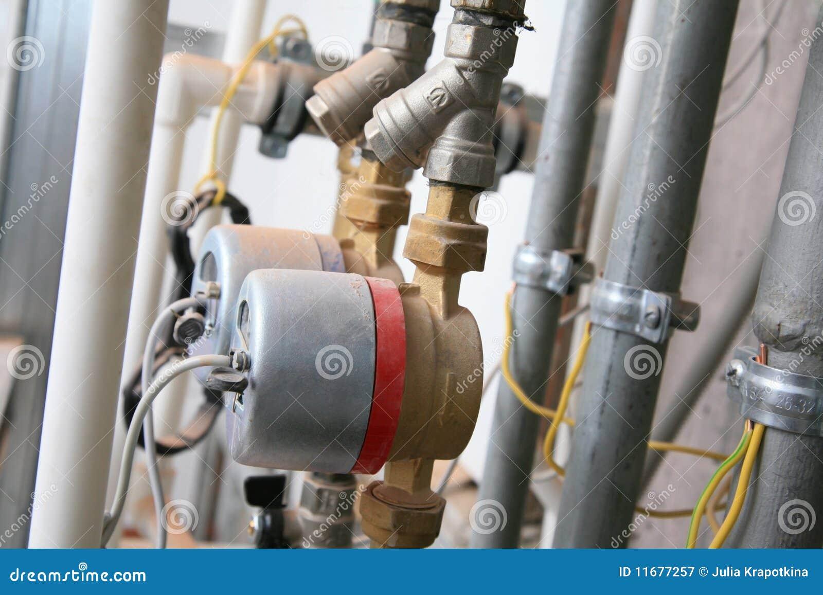 Sistema de distribuição da água