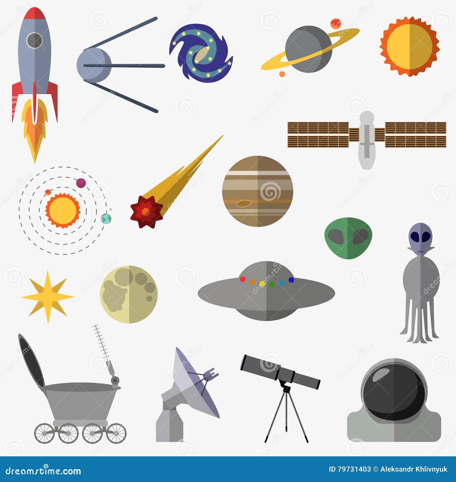Sistema de elementos del espacio