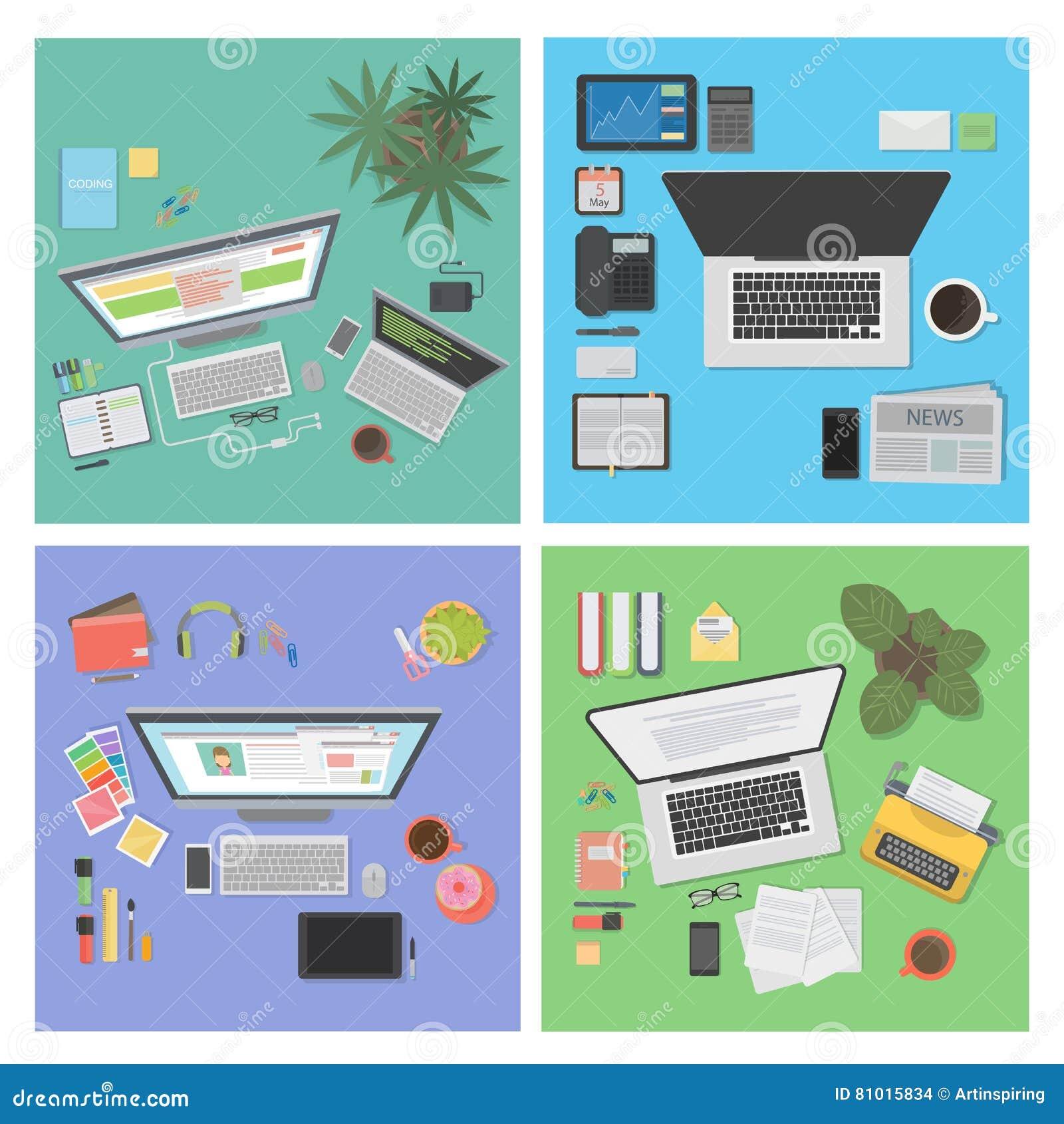 Sistema de escritorio de la visión