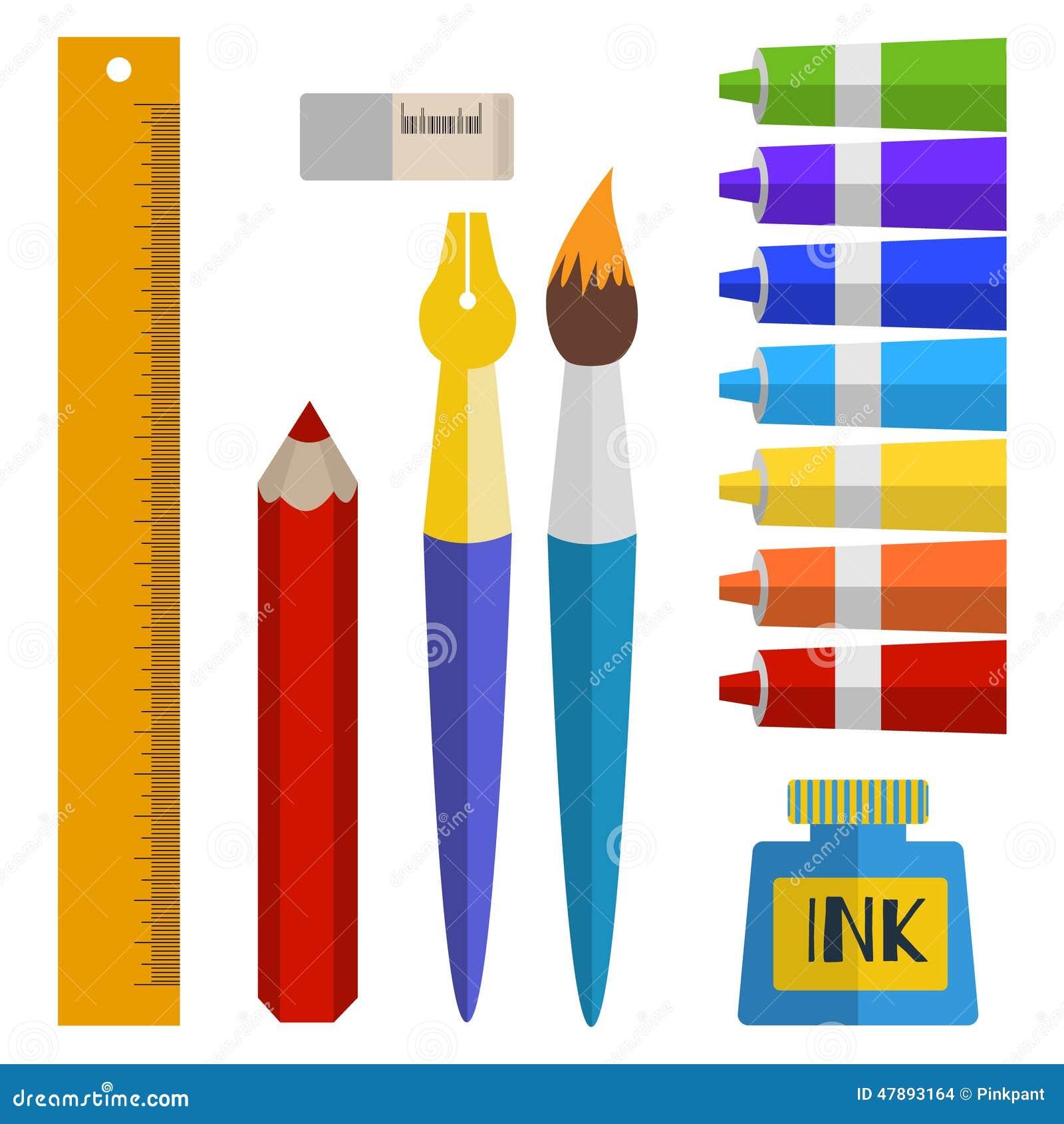Sistema de herramientas y de materiales para dibujar - Materiales de pintura de pared ...