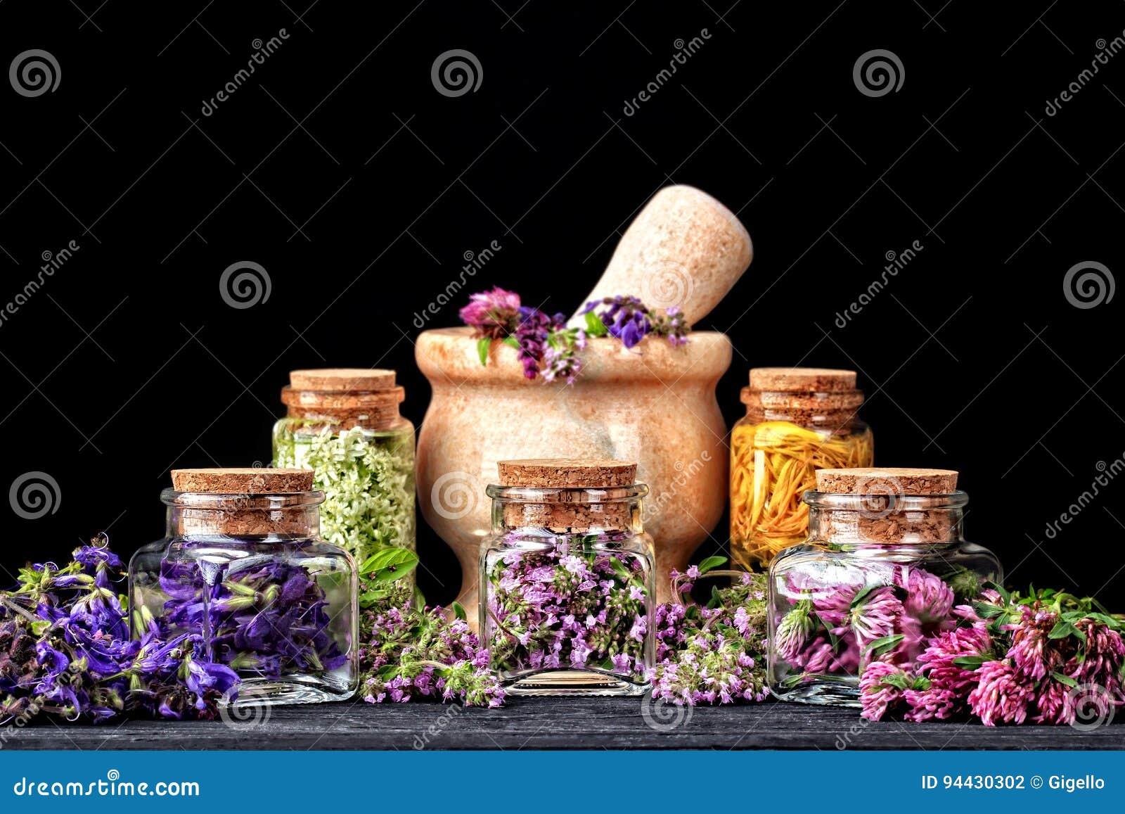 Sistema de hierbas curativas