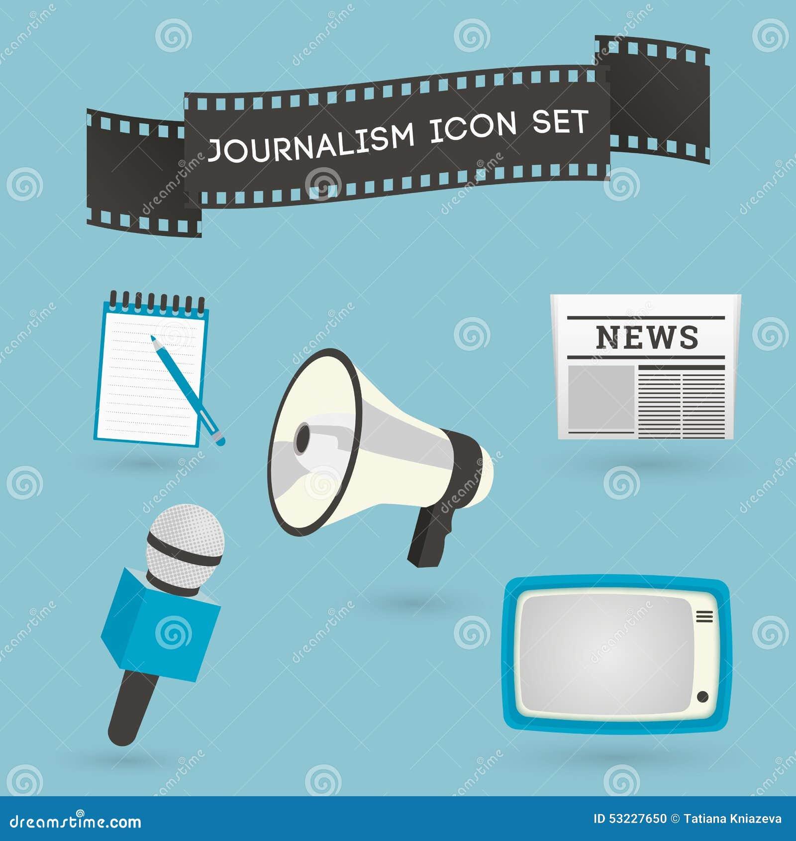 Sistema de iconos del periodismo