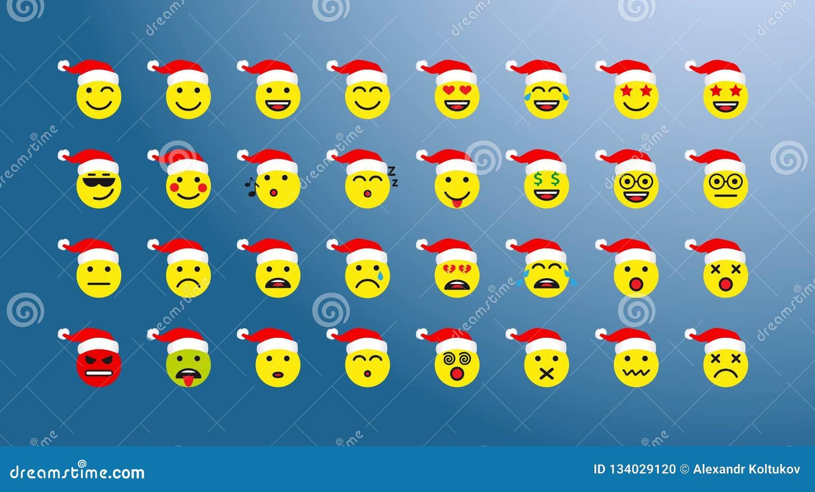 Sistema de iconos de la Navidad