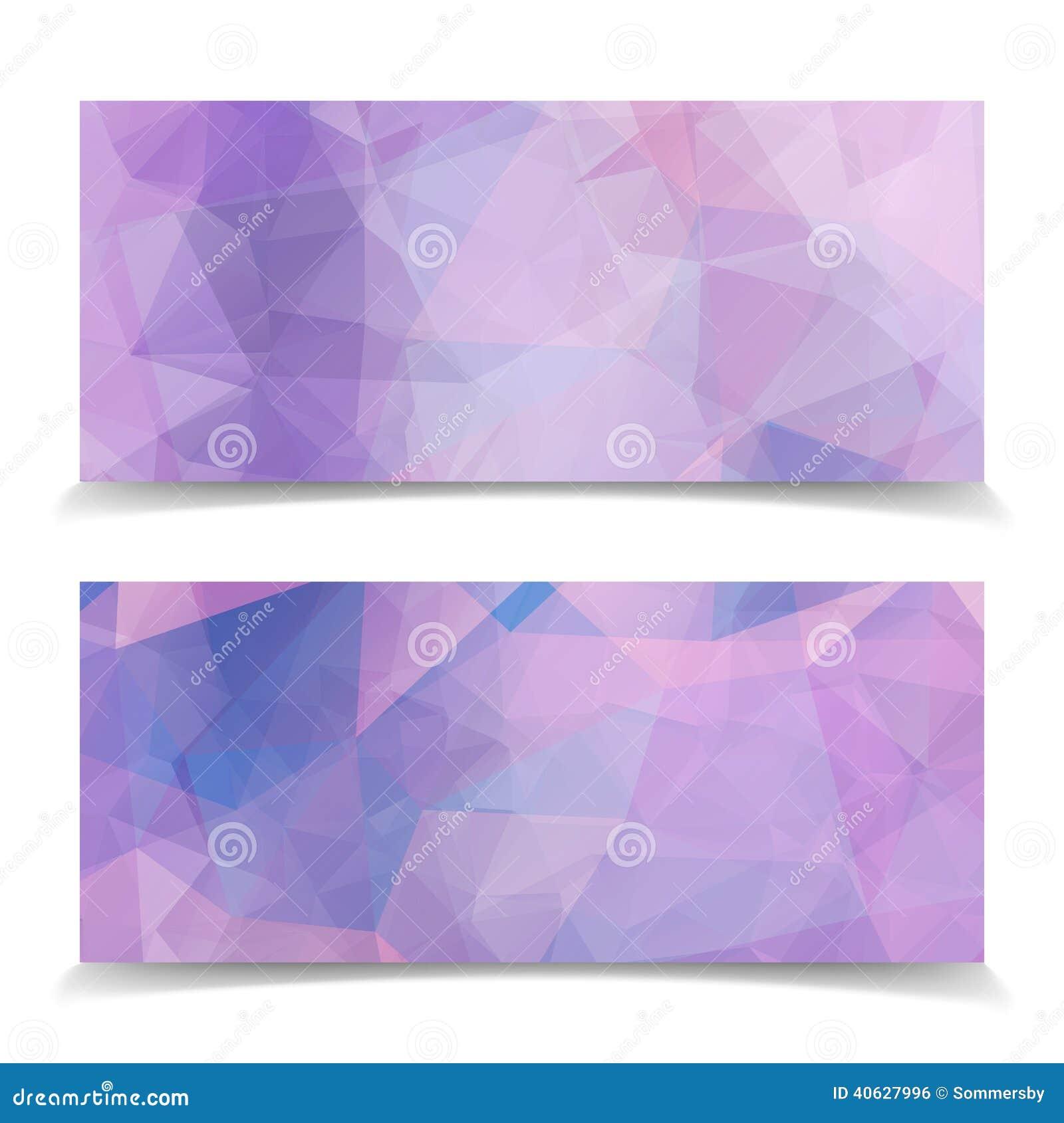 Sistema de jefes triangulares rosados abstractos