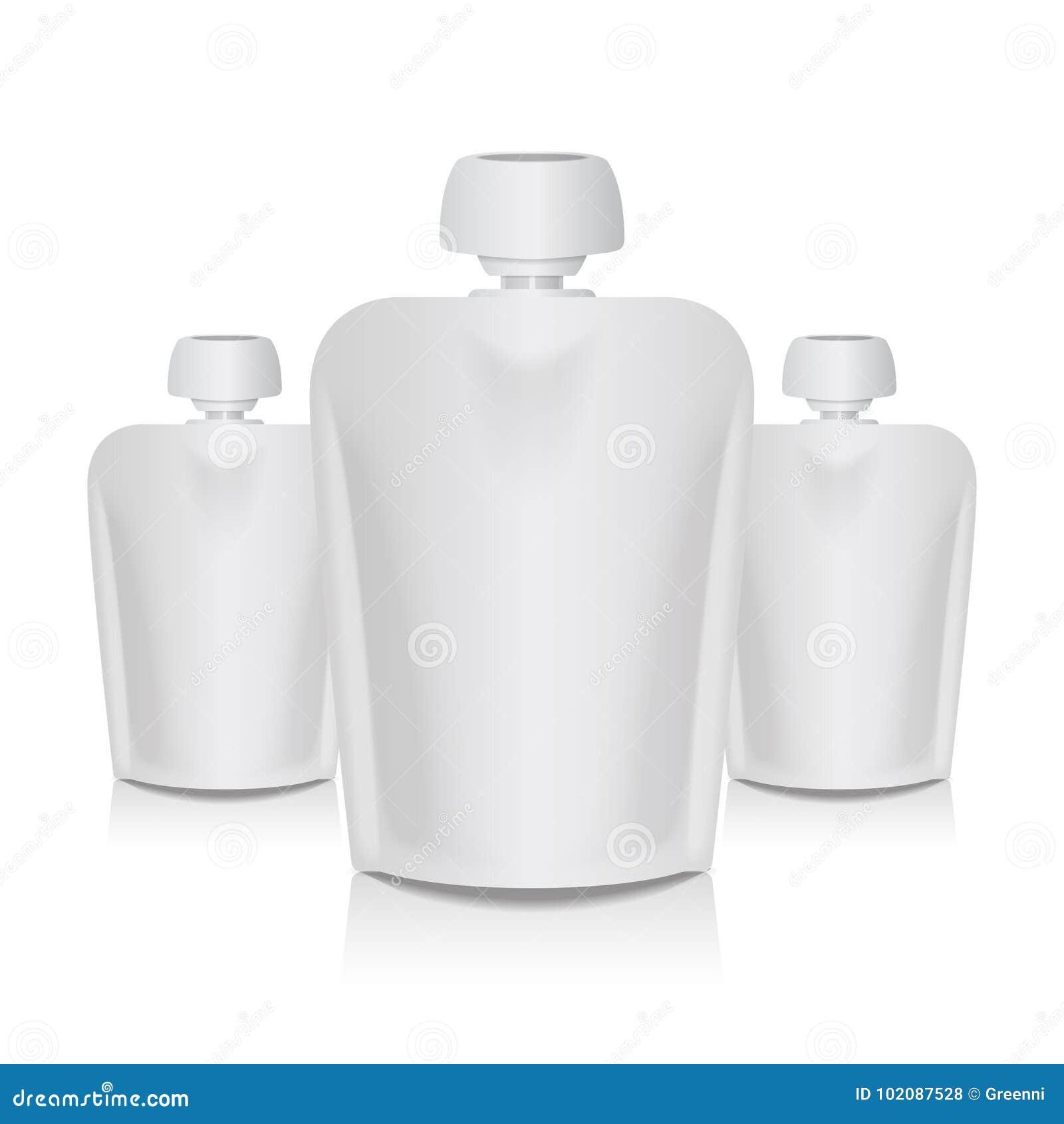 El Bolsa De Flexible Del En Sistema Top Casquillo Blanco Con La Y7vmbgIfy6