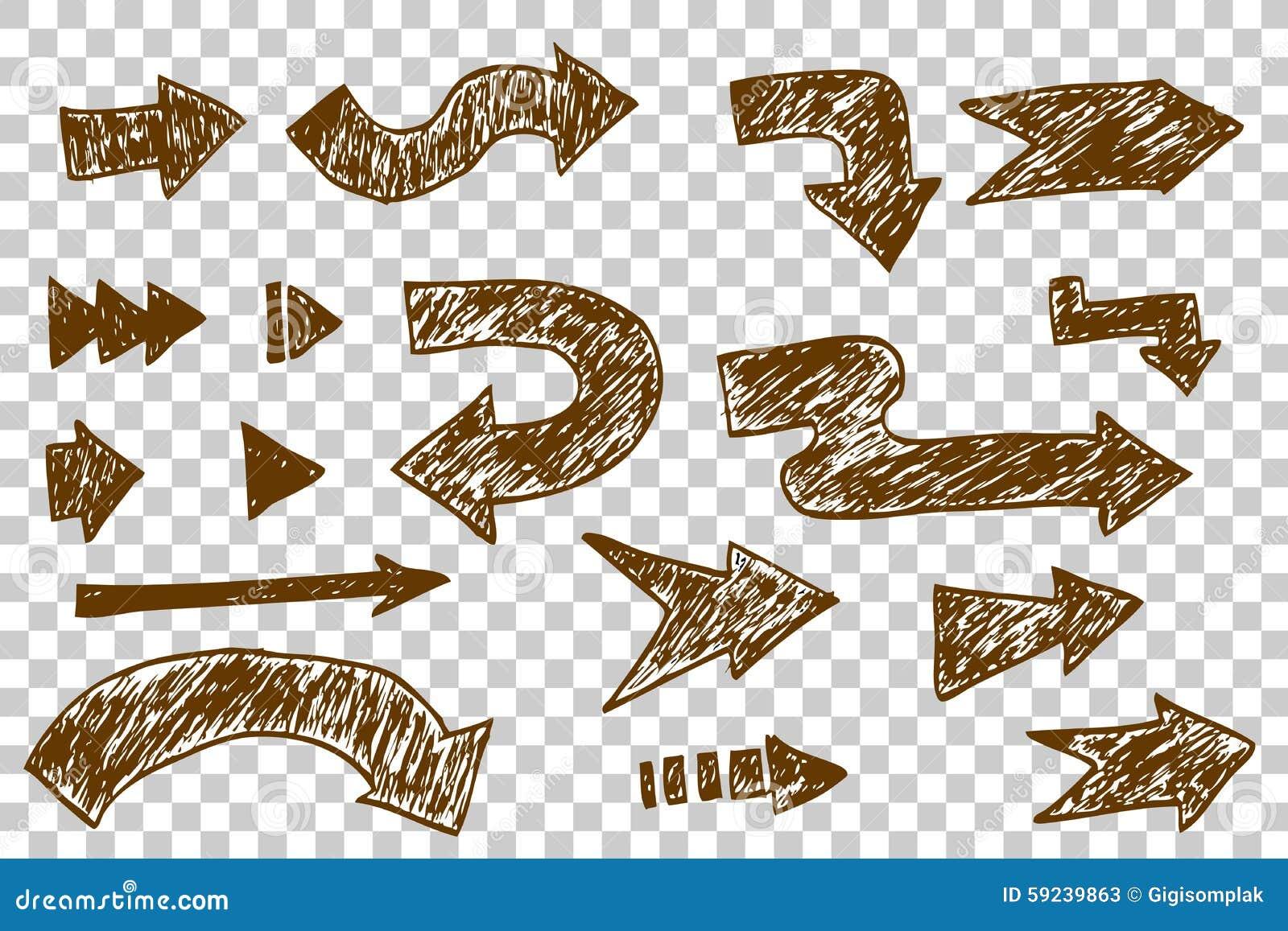 Download Sistema de la flecha ilustración del vector. Ilustración de extracto - 59239863