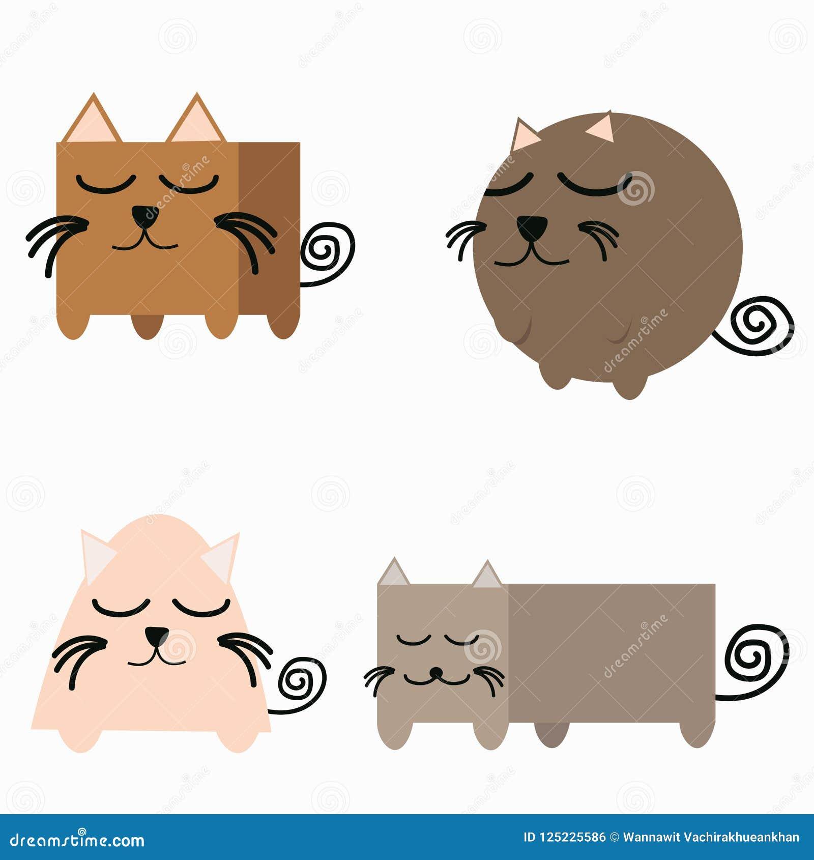 Sistema de la geometría de la forma del gato