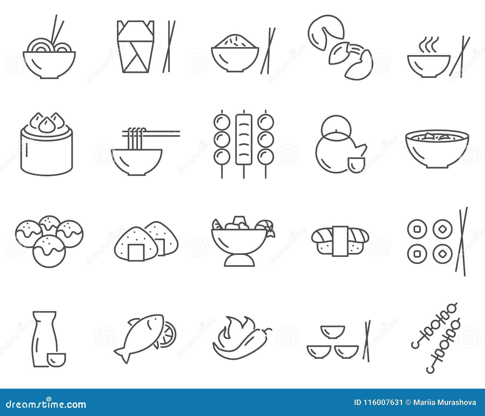 comida asiática en línea o