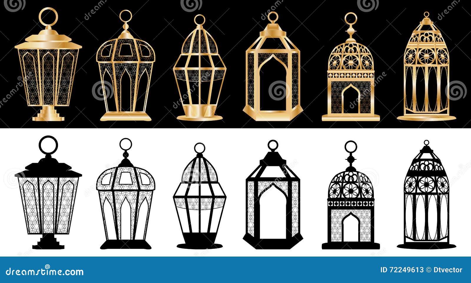 Sistema de la linterna del Ramadán