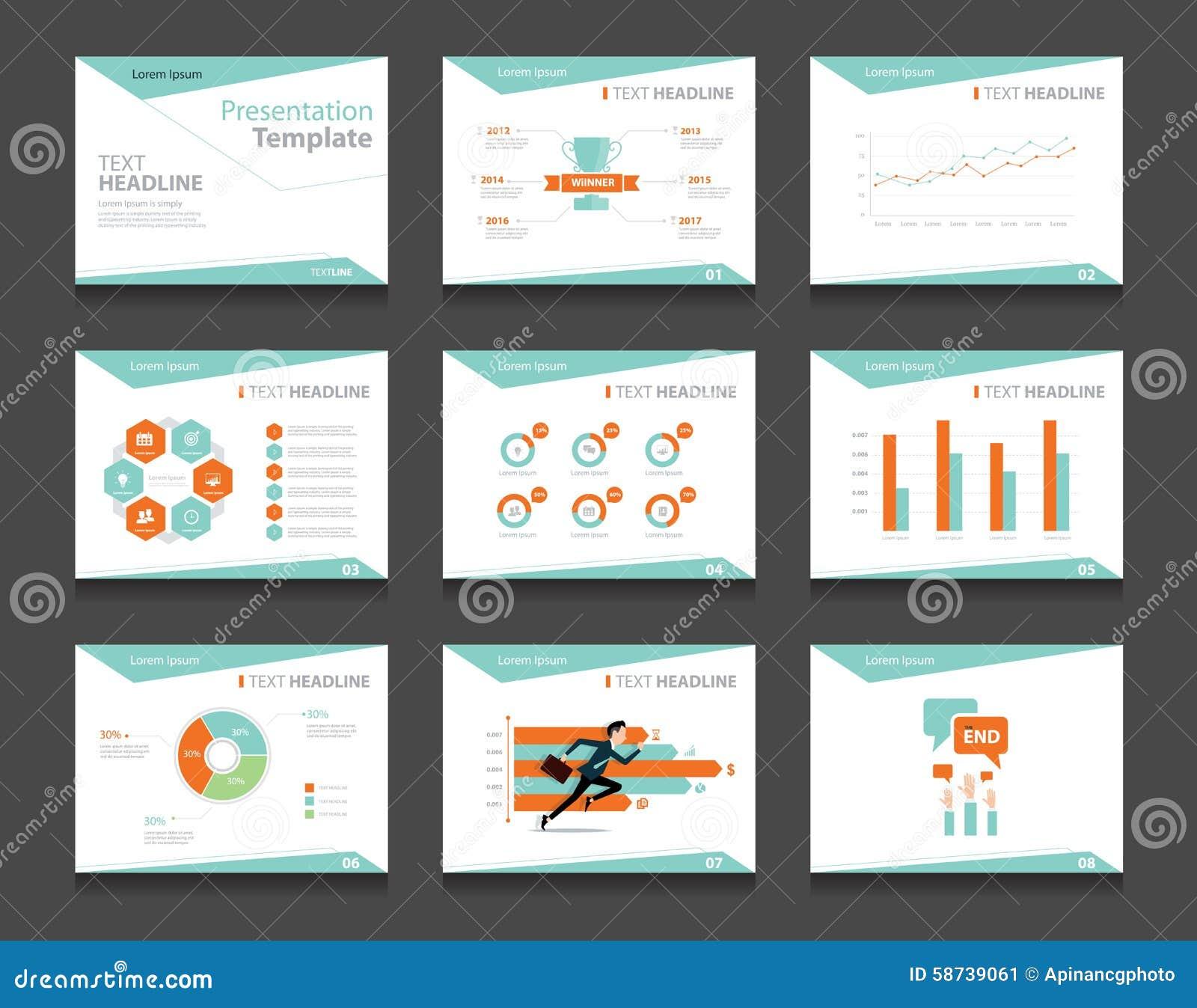 Graphic Design Powerpoint Templates   Sistema De La Plantilla De La Presentacion Del Negocio De