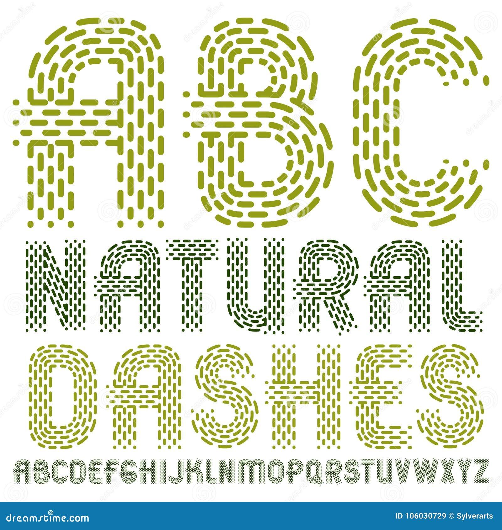 Sistema de letras capitales del alfabeto inglés del vector de moda, isola del ABC