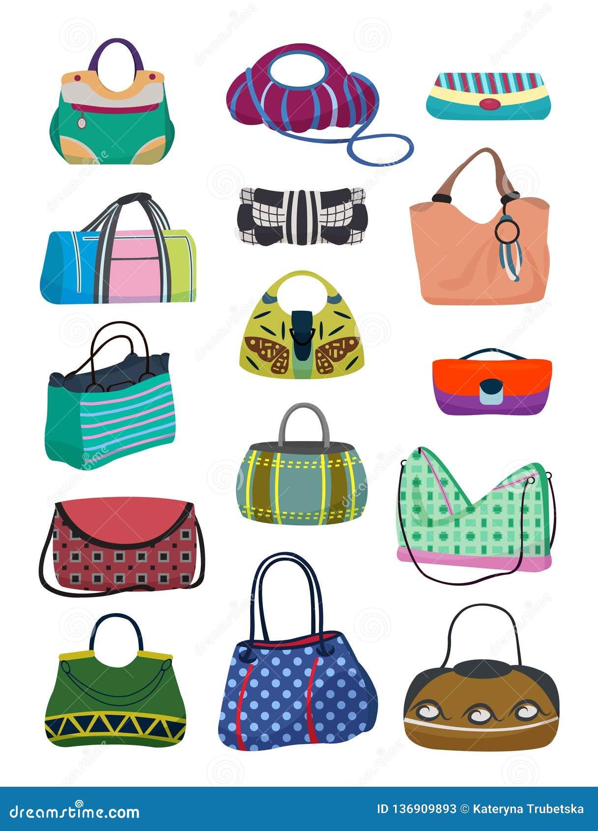 Sistema de los bolsos de las señoras