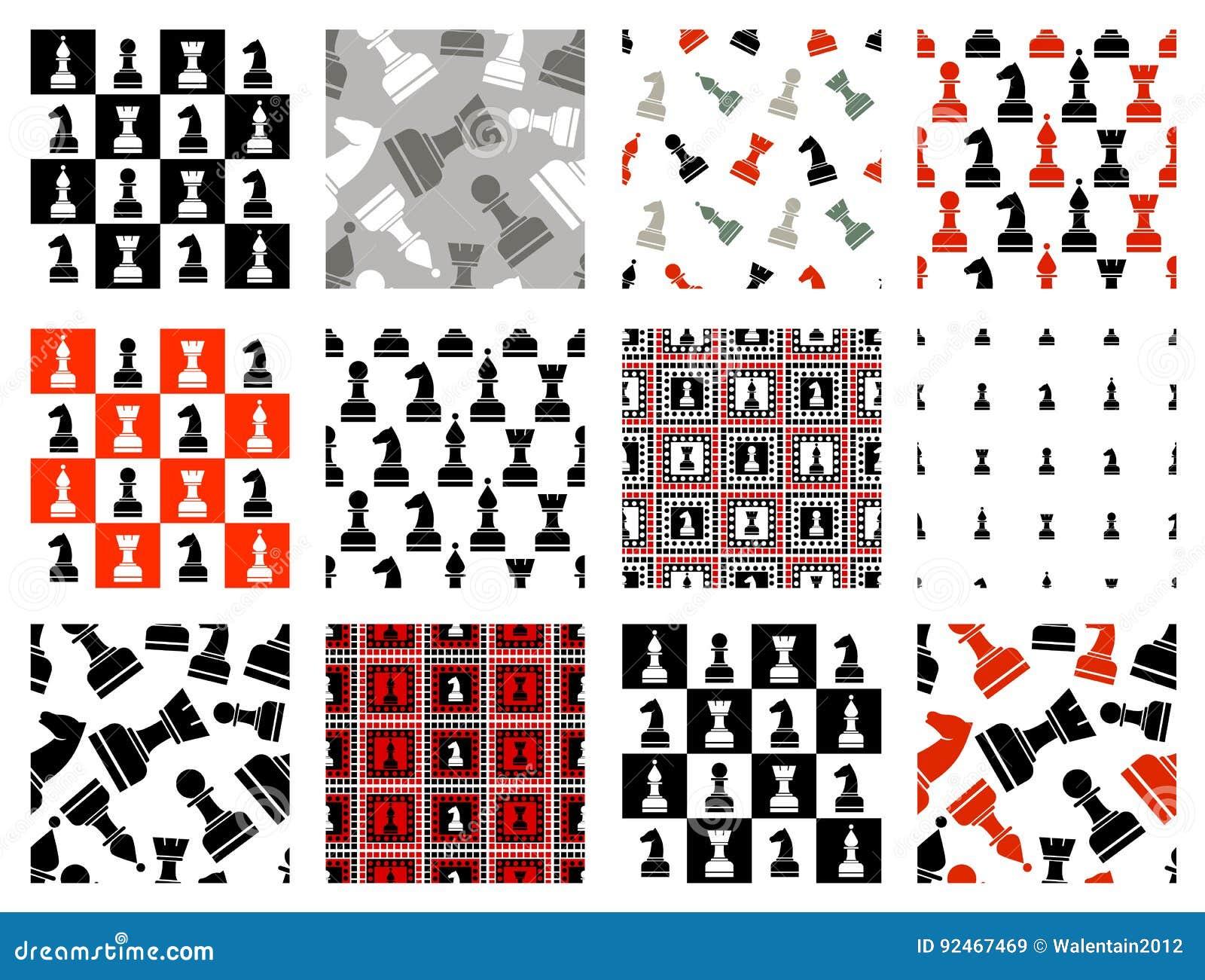 Sistema De Modelos Inconsútiles Del Vector Con Los Iconos Del ...