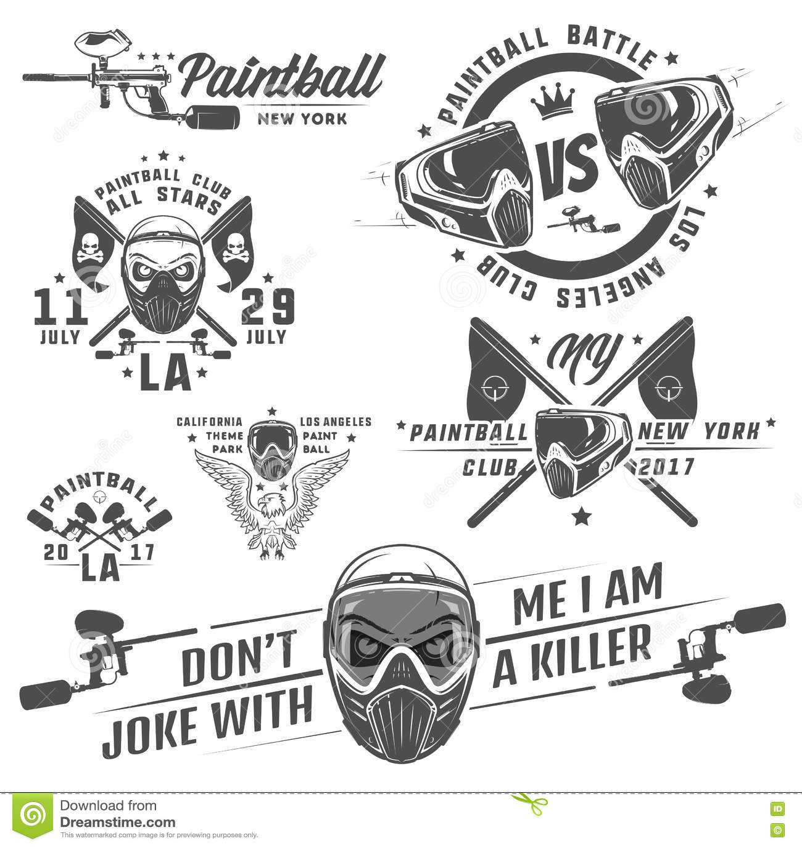 Sistema de Paintball, diseño de Paintball, tatuaje de Paintball