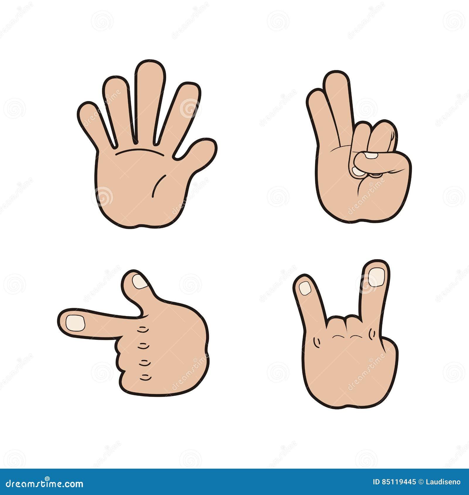 Sistema de señales de mano