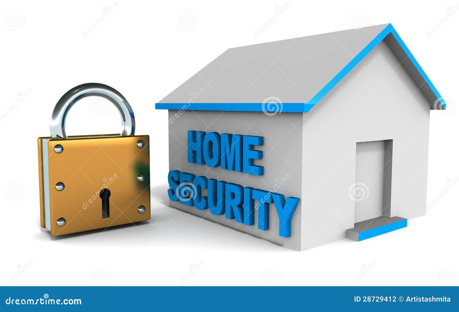 Sistema de seguridad en el hogar fotograf a de archivo - Sistemas de seguridad ...
