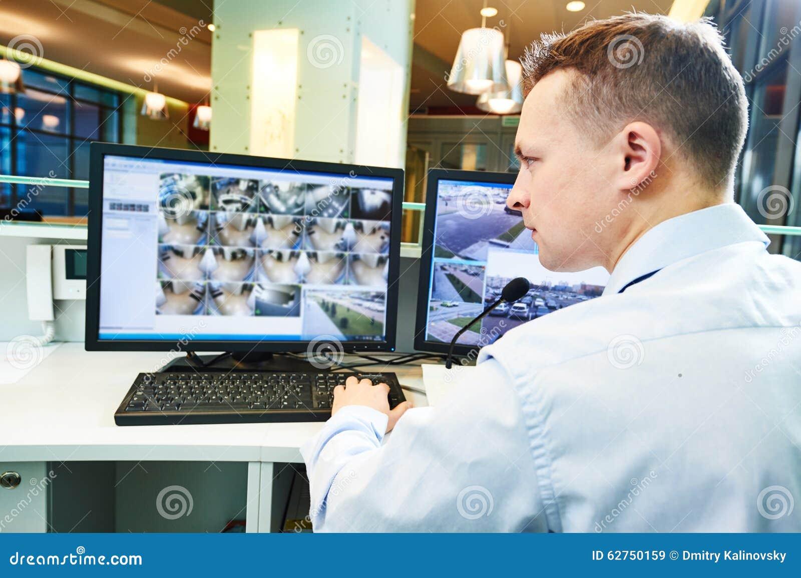 Sistema de seguridad video de la vigilancia de la supervisión