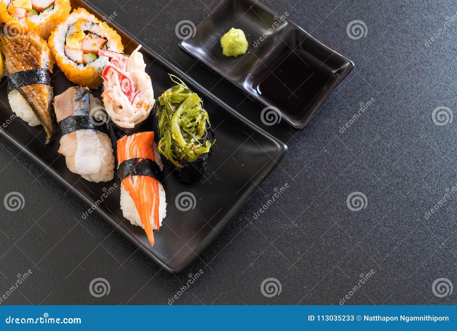 Sistema de sushi y de rollo del maki