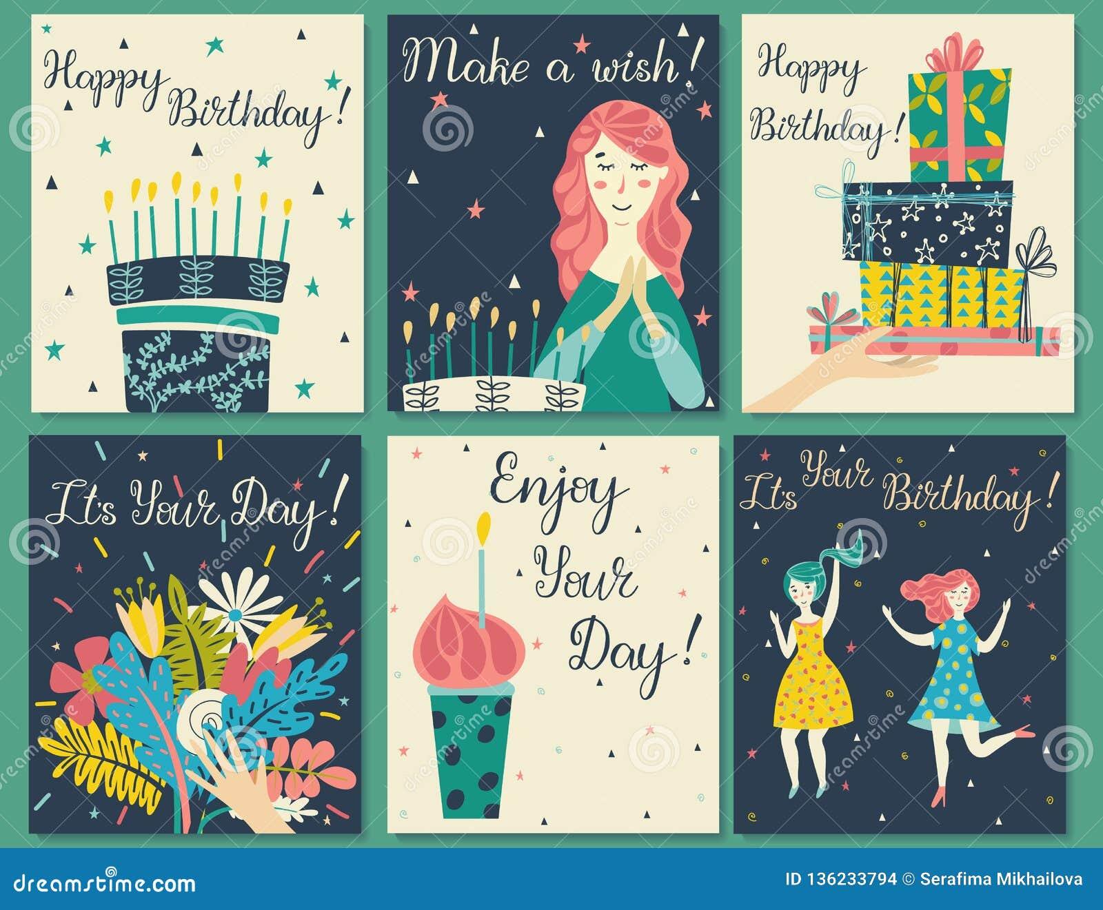 Sistema de tarjetas de cumpleaños