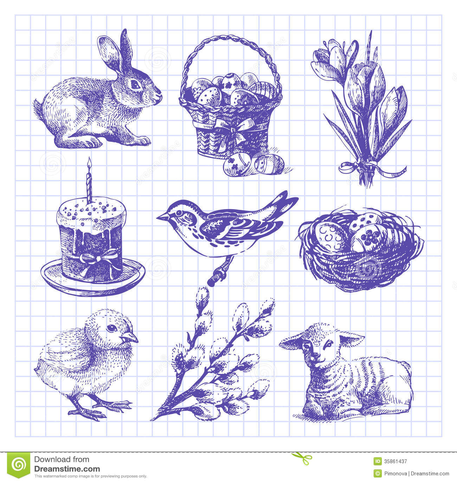 Sistema del bosquejo de Pascua