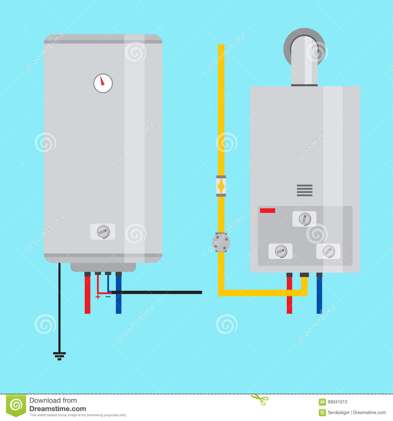 Calentador electrico o gas amazing calentador electrico y for Calentador a gas o electrico