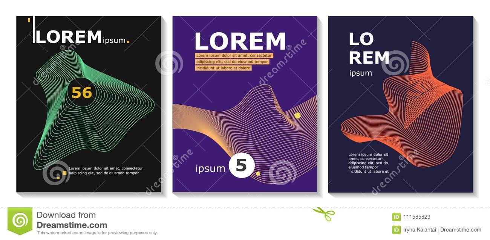 Sistema Del Folleto, Informe Anual, Plantillas Del Diseño Del ...