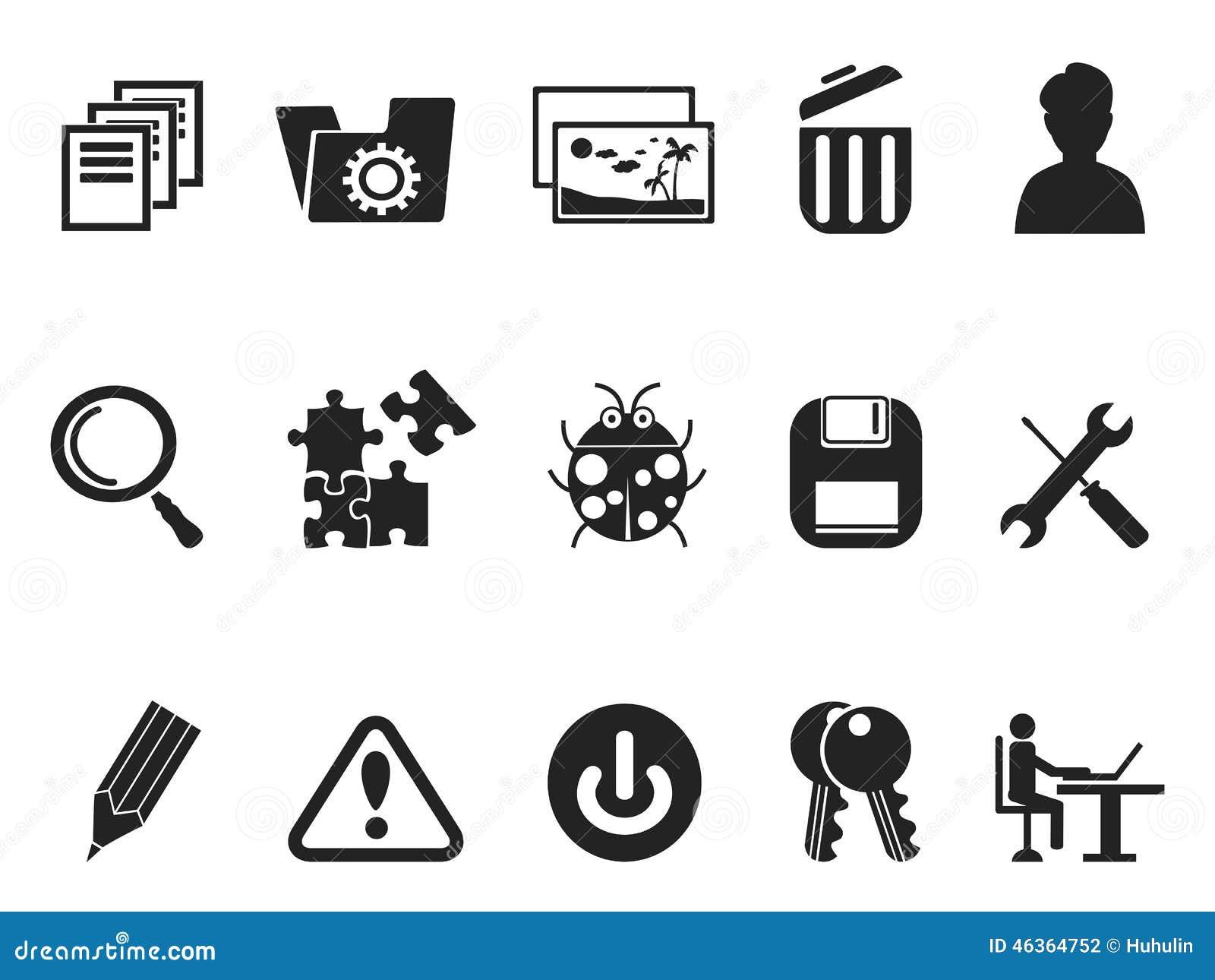 Sistema Del Icono De Los Desarrolladores Del Software Y ...