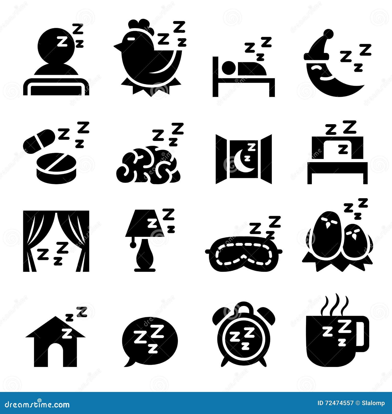 Sistema del icono del sueño