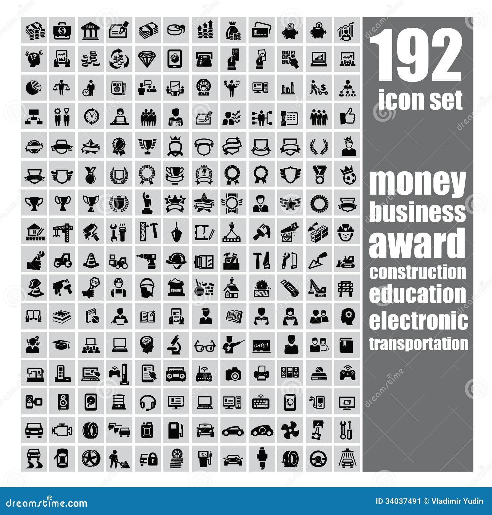 Sistema del icono del Web