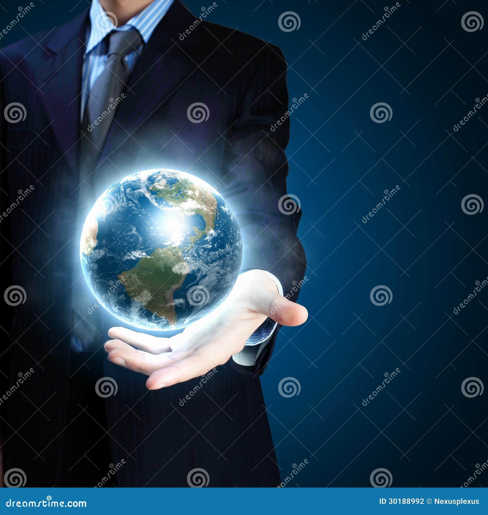 Sistema del pianeta in vostre mani