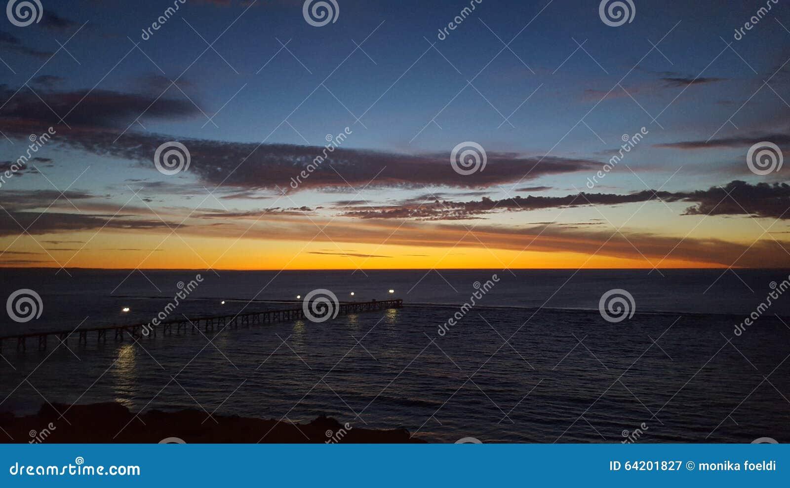 Sistema del sol del océano del sur de Australia