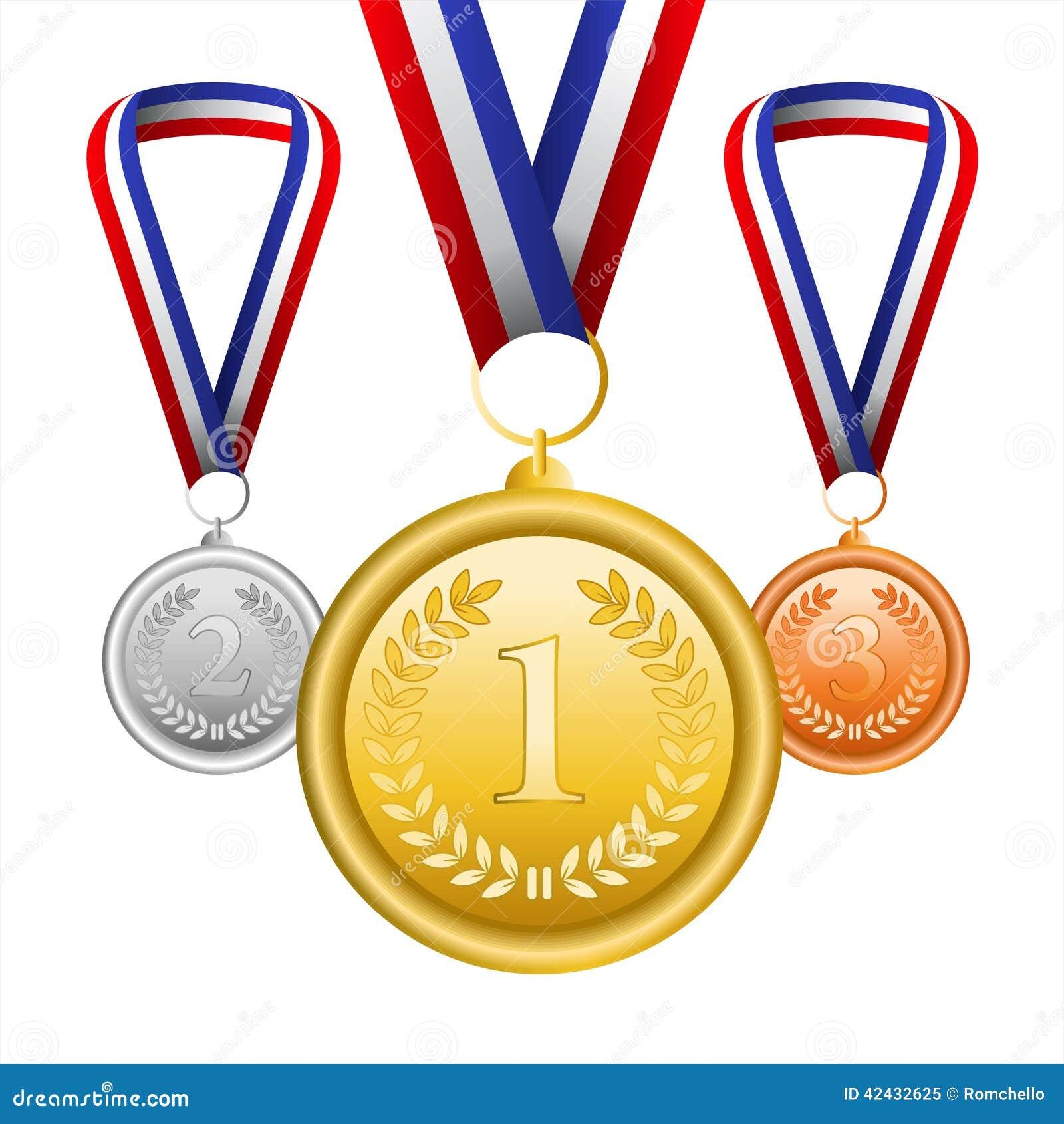Sistema del vector de medallas