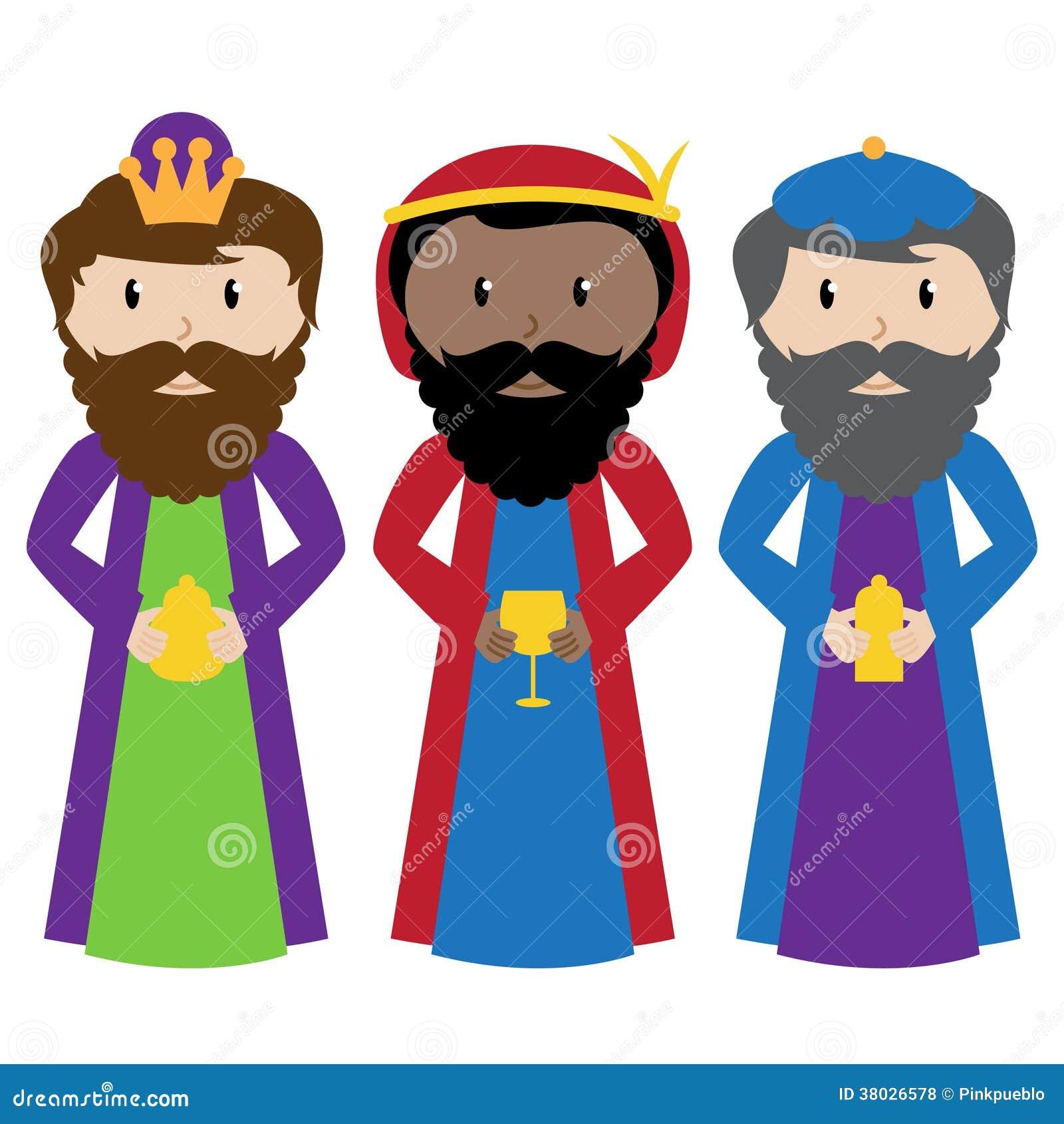 Excepcional Tres Hombres Sabios Para Colorear Colección de Imágenes ...