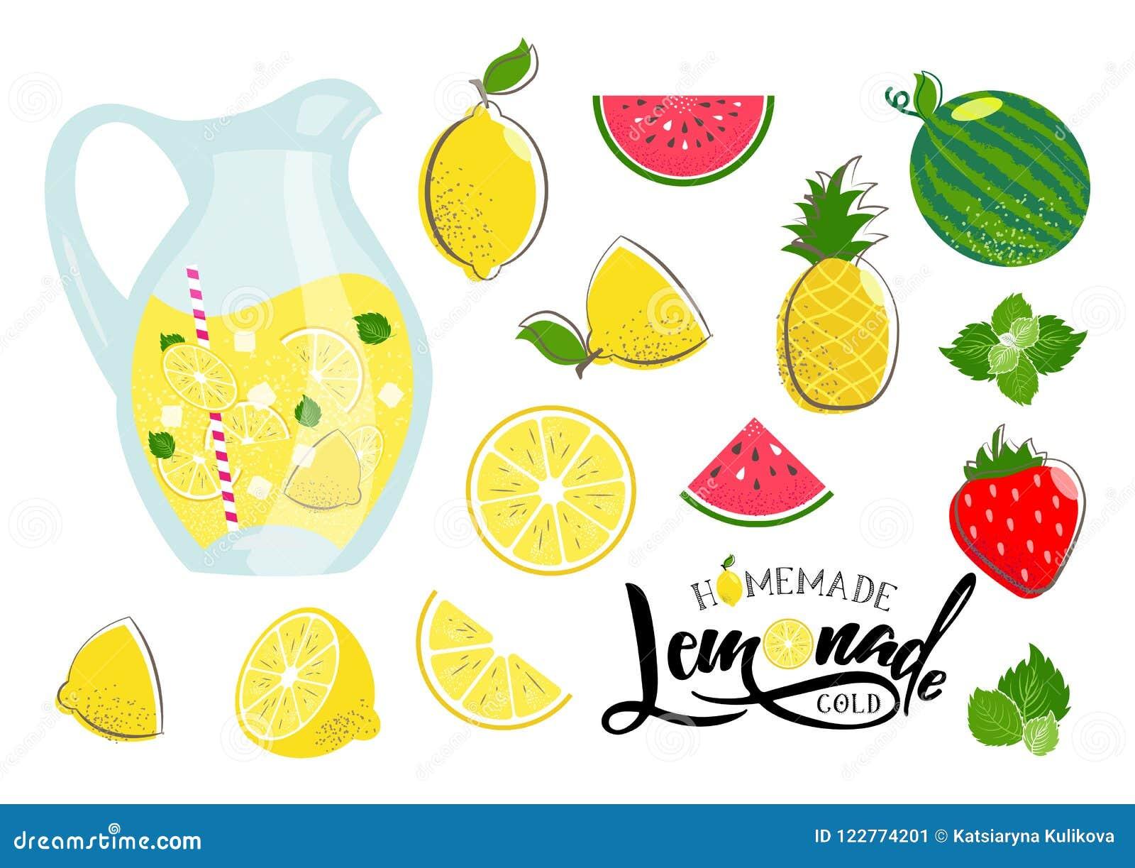 Sistema del verano de la limonada