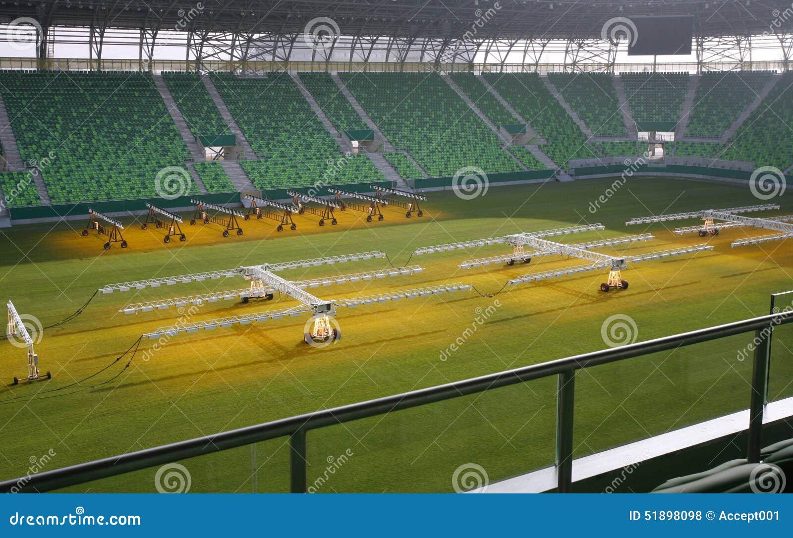 Sistema dell impianto di perforazione di illuminazione per erba