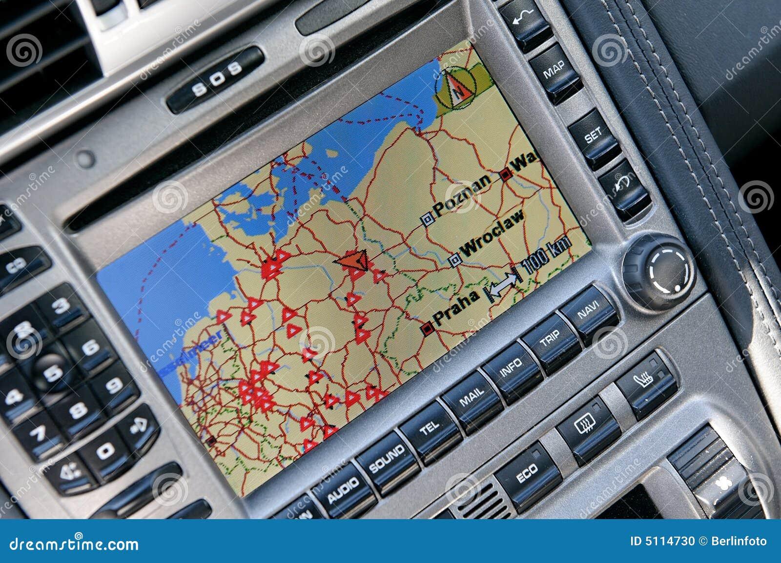 Sistema di percorso di GPS