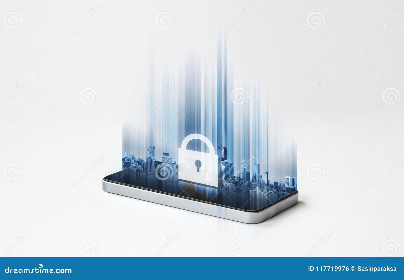 Sistema Di Sicurezza Del Telefono Cellulare, Smart Phone ...