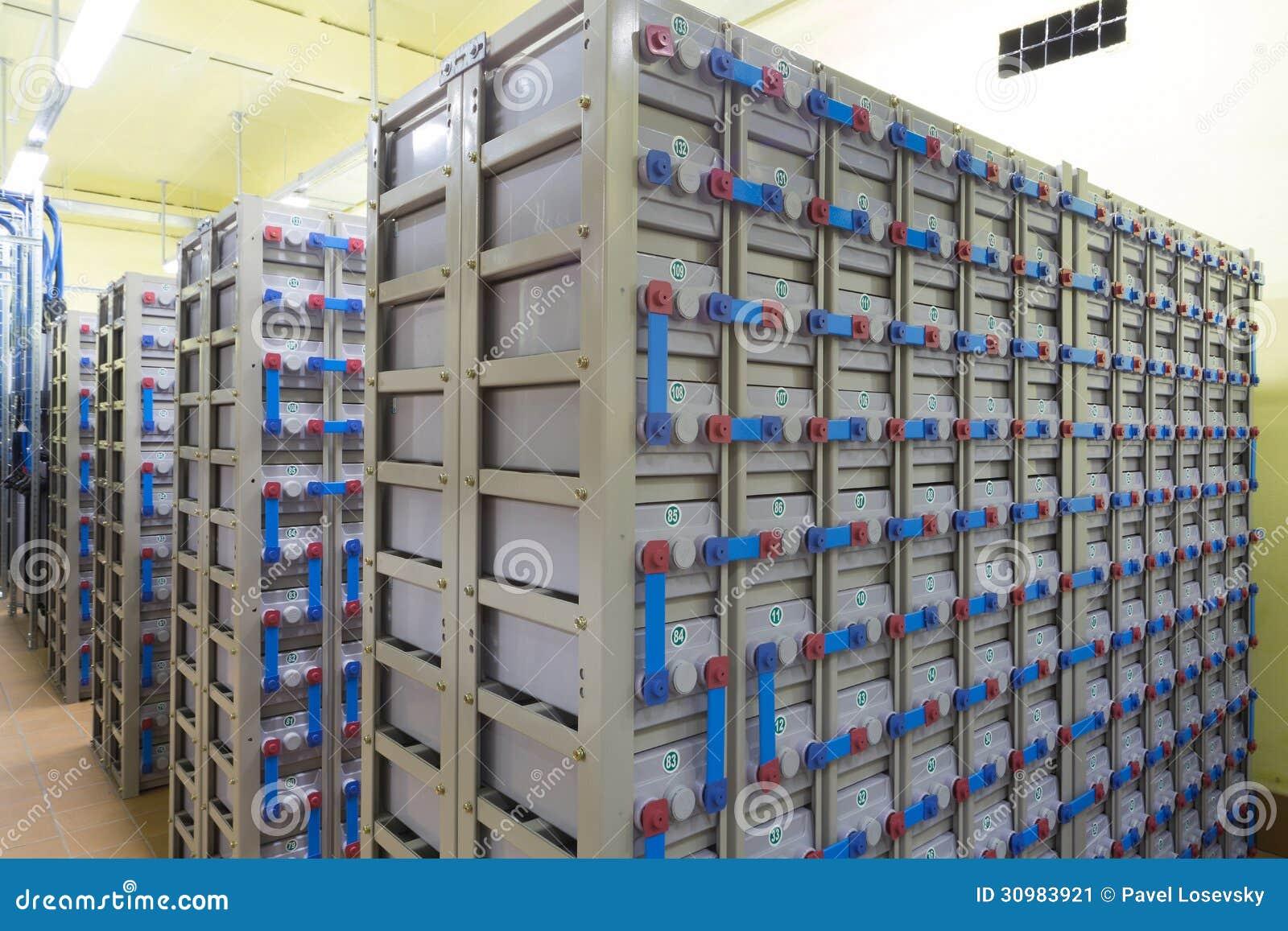 Sistema eléctrico de reserva industrial