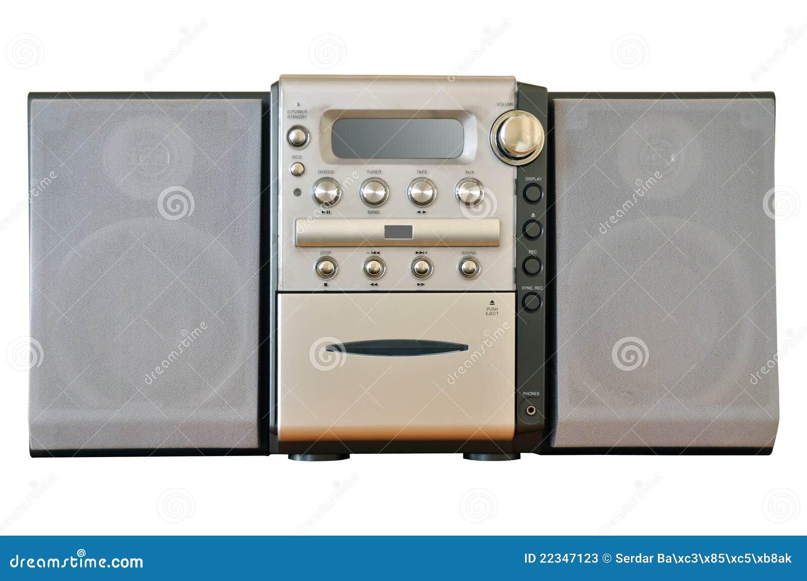 Sistema estéreo compacto