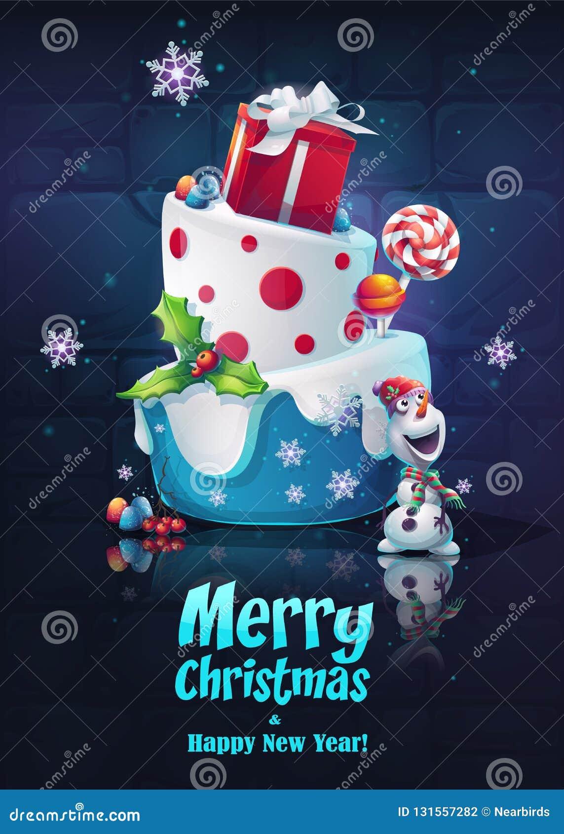 Sistema Festivo Feliz Ano Nuevo Imagen Brillante Para Crear Los