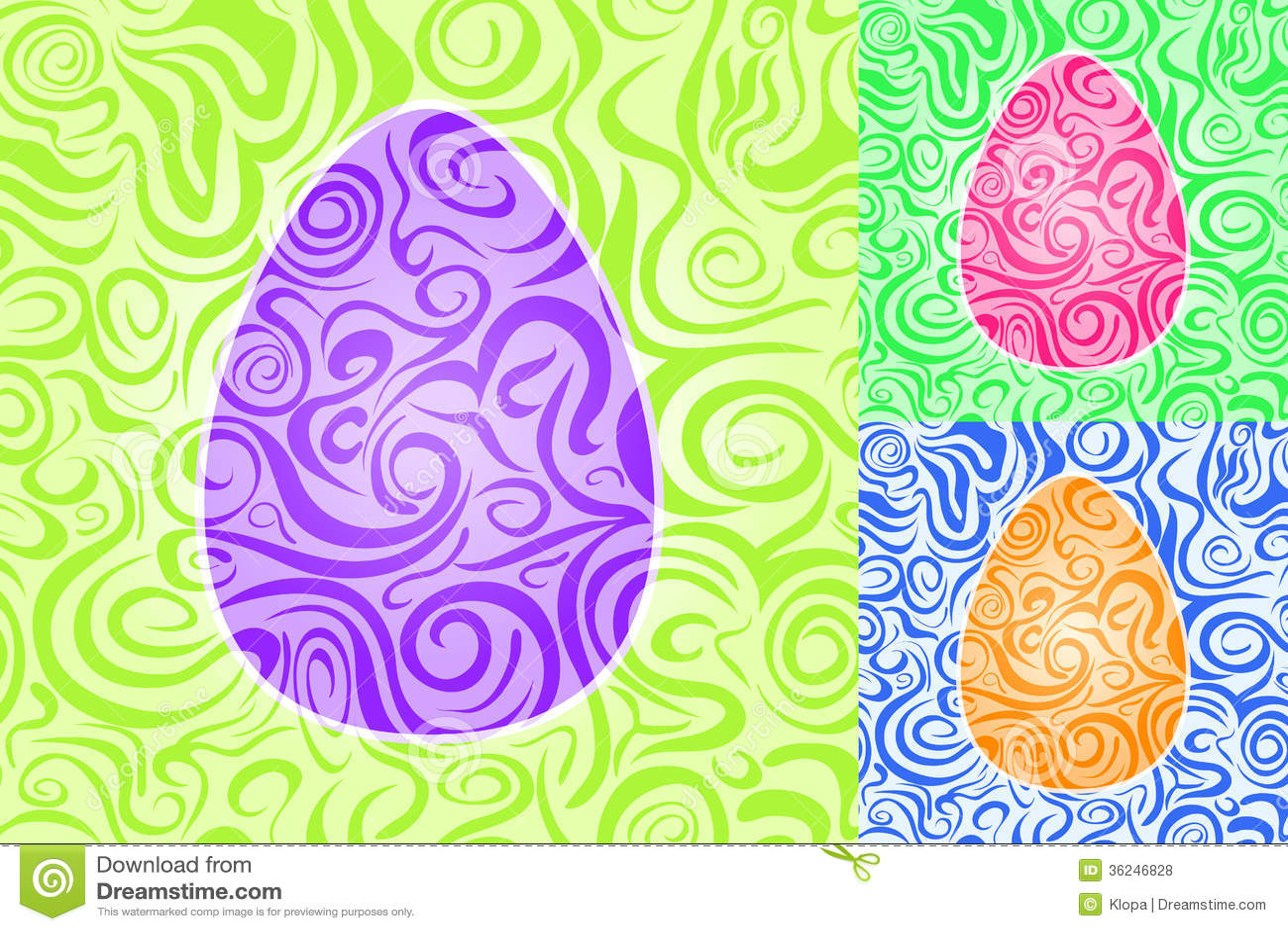Sistema inconsútil del modelo del remolino del extracto de Pascua