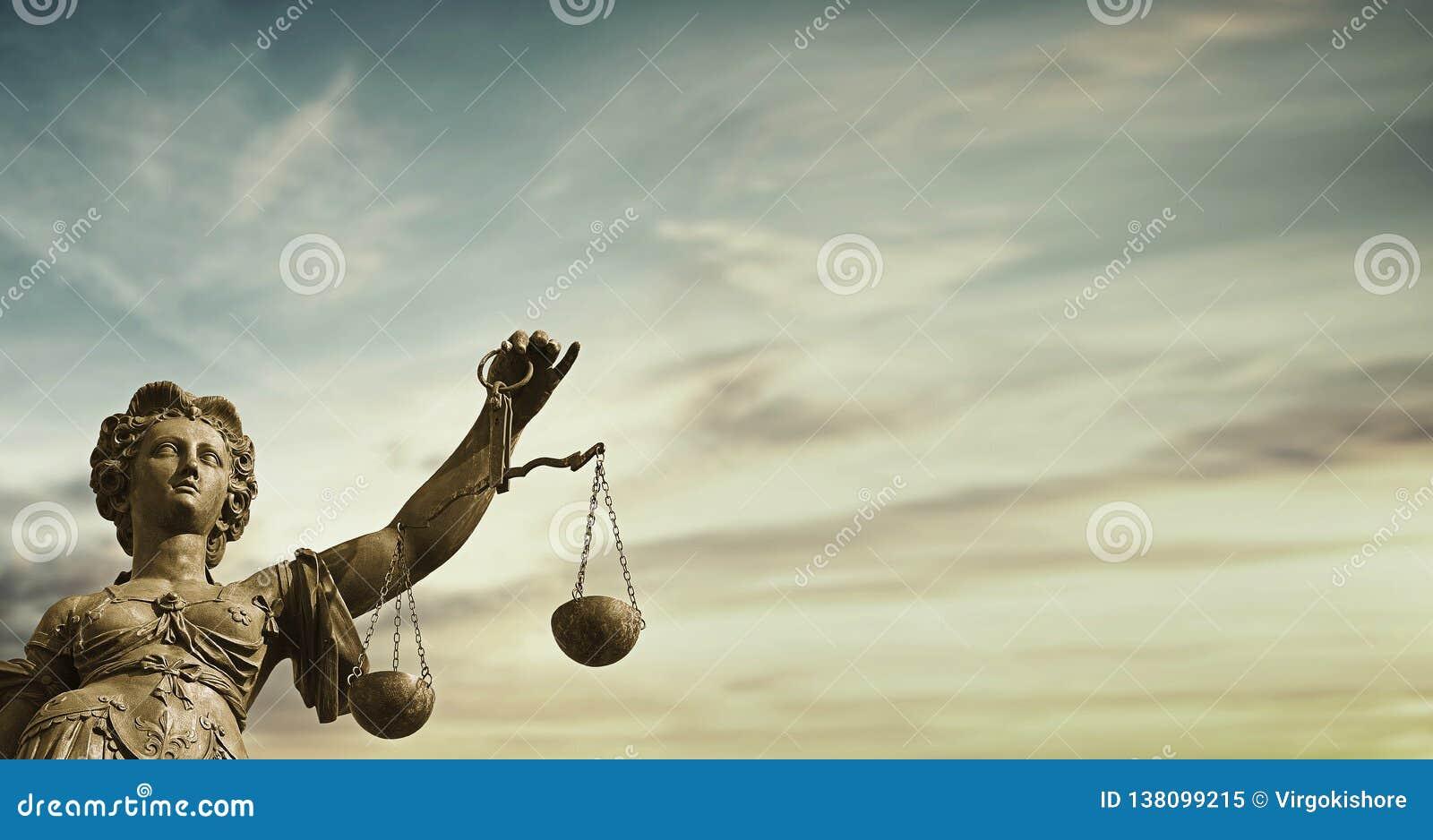 Sistema judicial moral de señora Justice