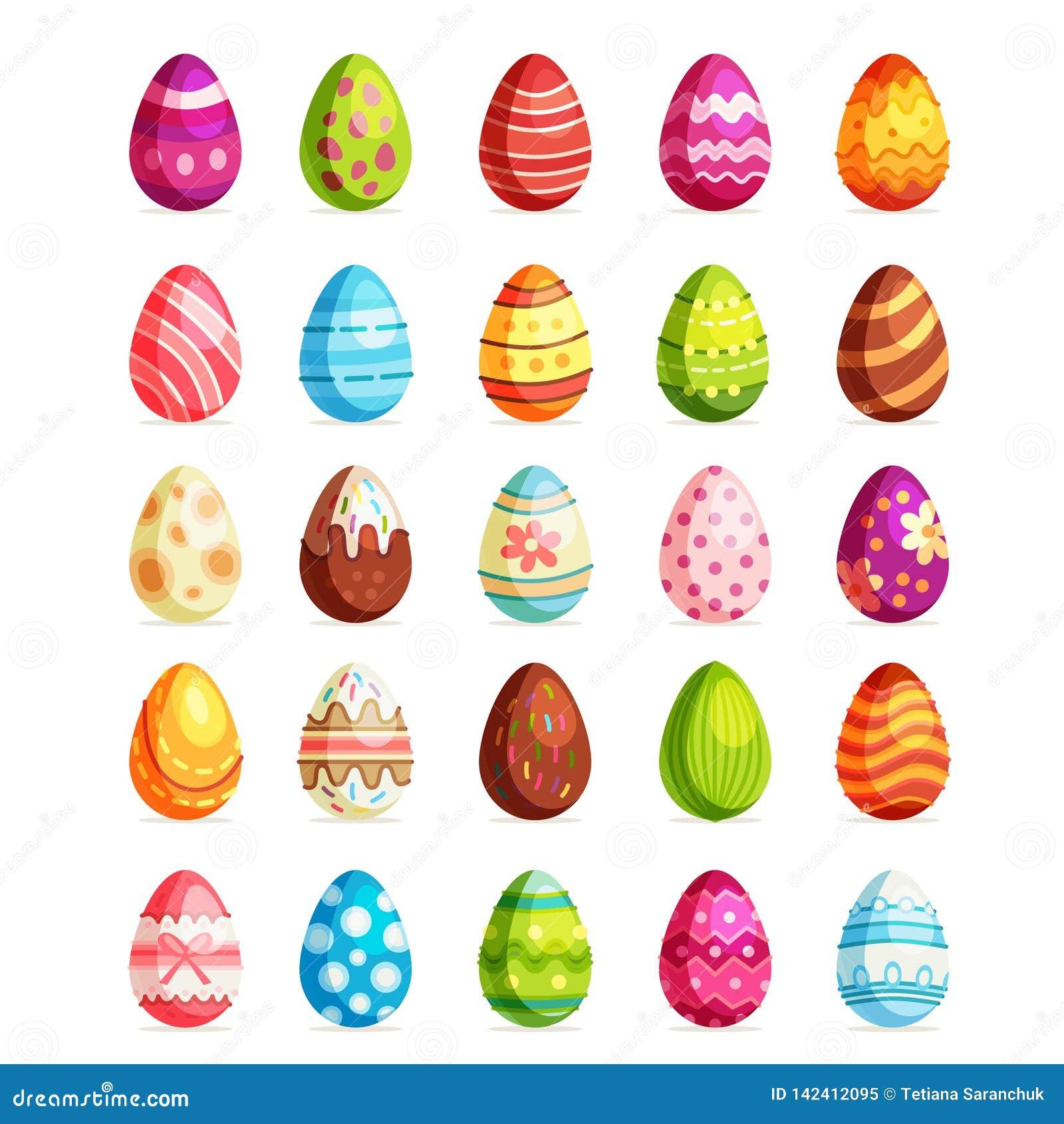 Sistema realista del huevo de Pascua Caza domingo del huevo