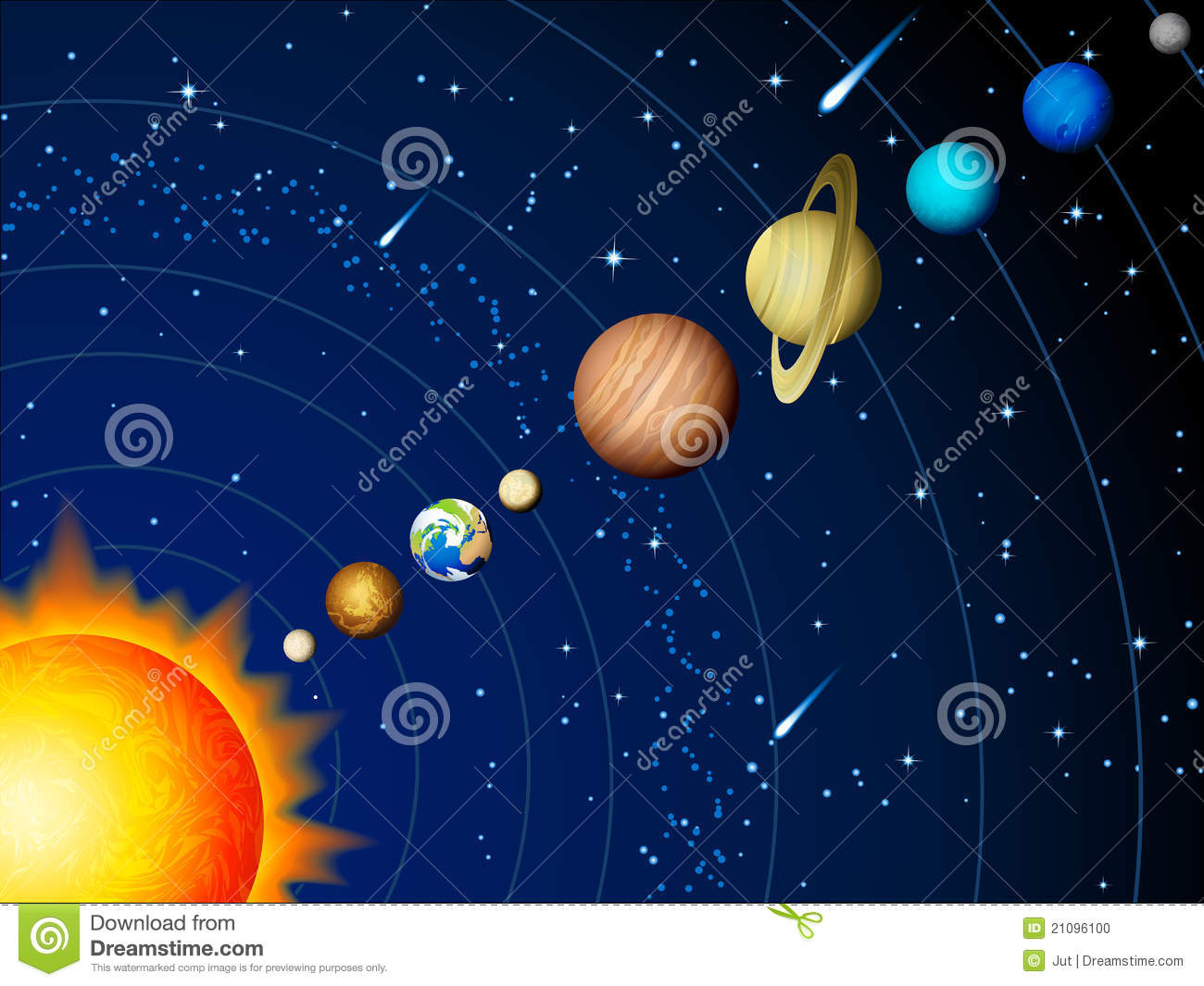 pictures of each planet in the solar system  Coloring
