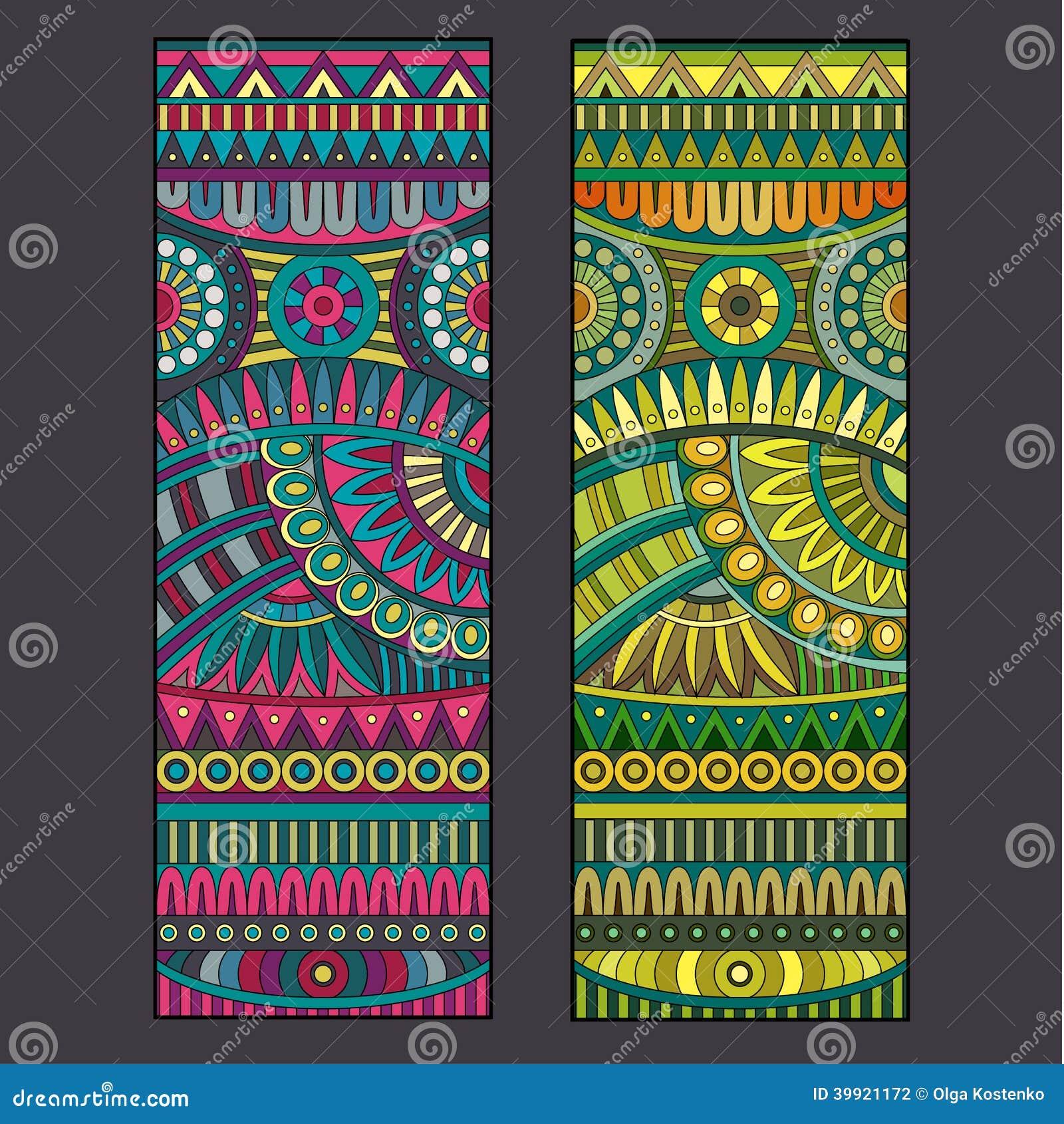 Sistema tribal del origen étnico del vector abstracto.