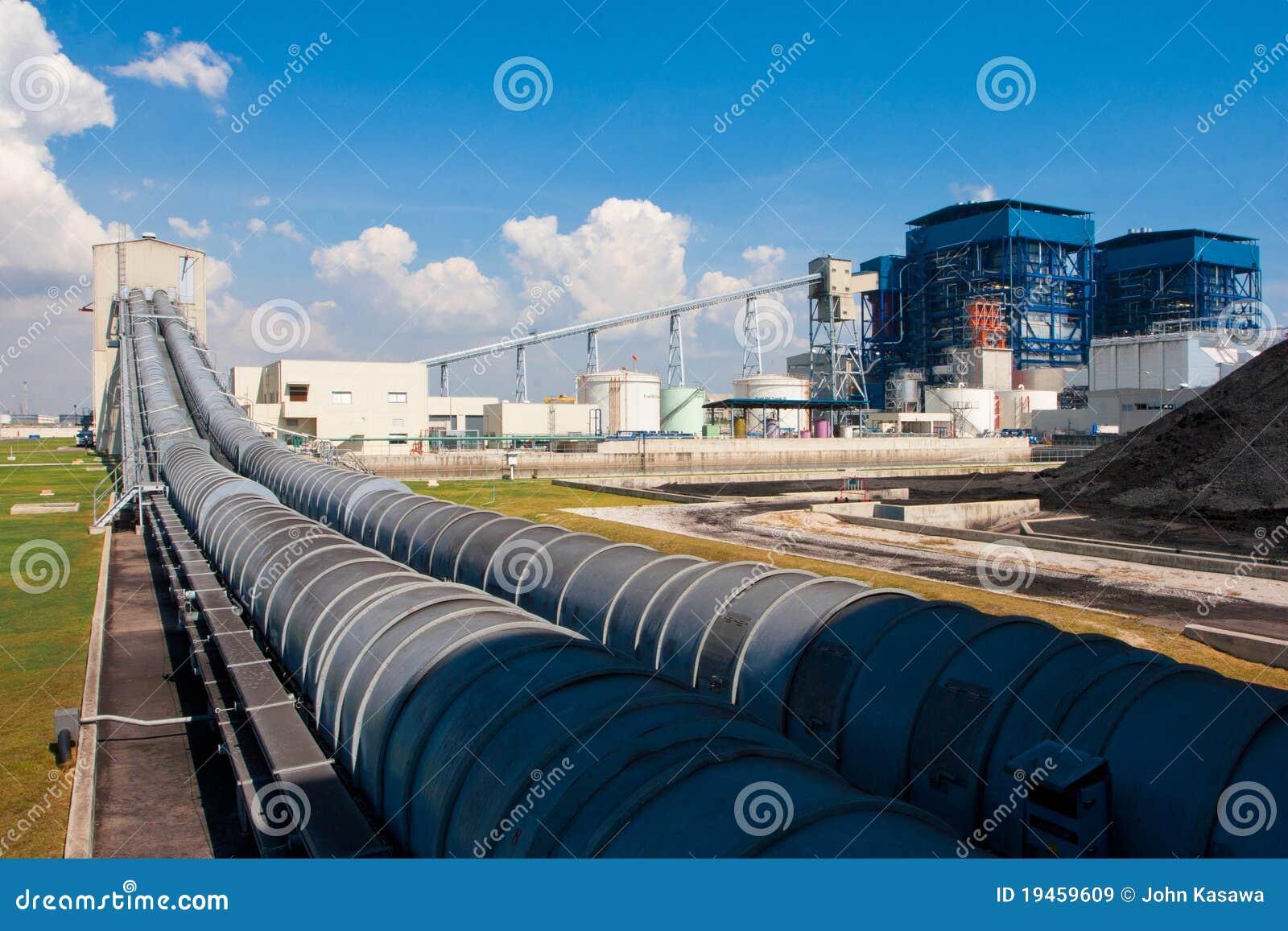 Sistemas da correia do carregamento do lignite