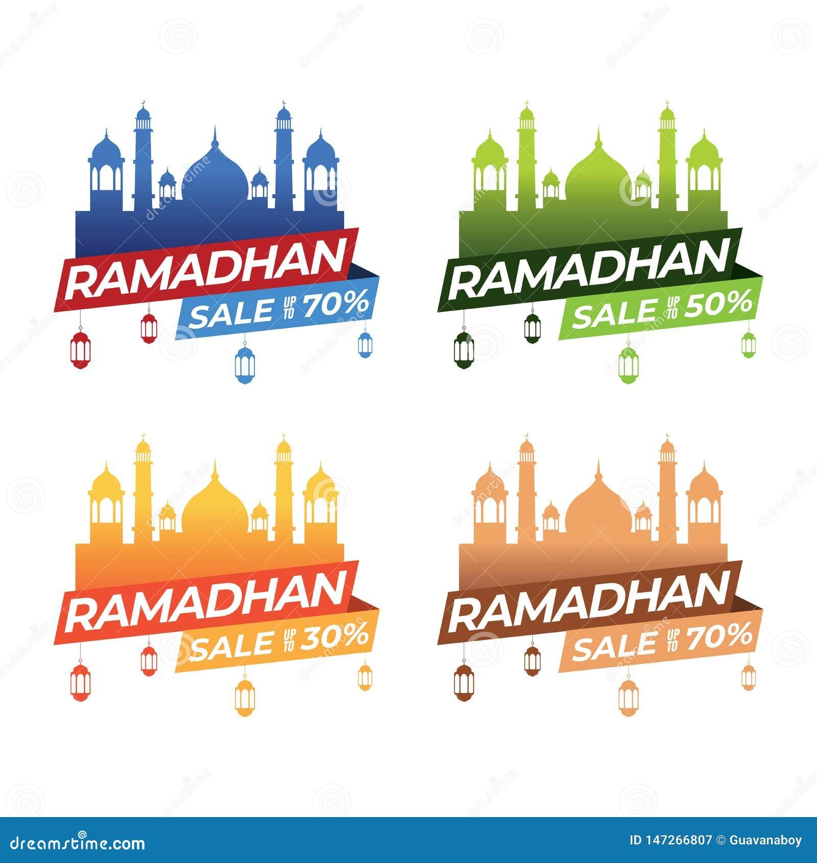 Sistemas de la bandera del Ramadán