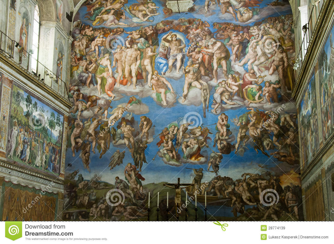 michelangelos last judgement In her analysis of michelangelo's last judgment, bernadine barnes provides an  original and stimulating view of this renowned fresco and of the audience for.
