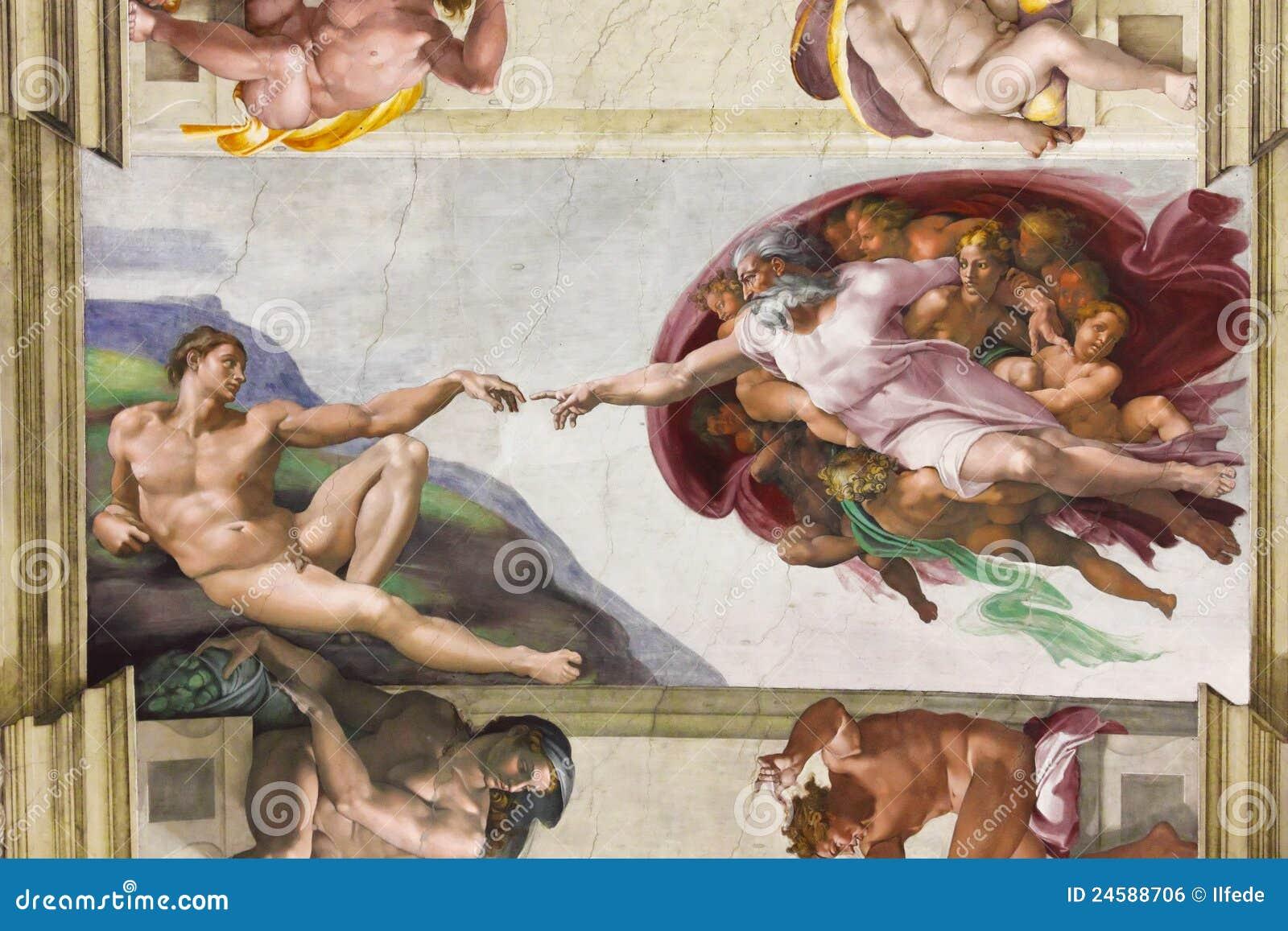 Sistine Kapelle. Vatican, Italien.