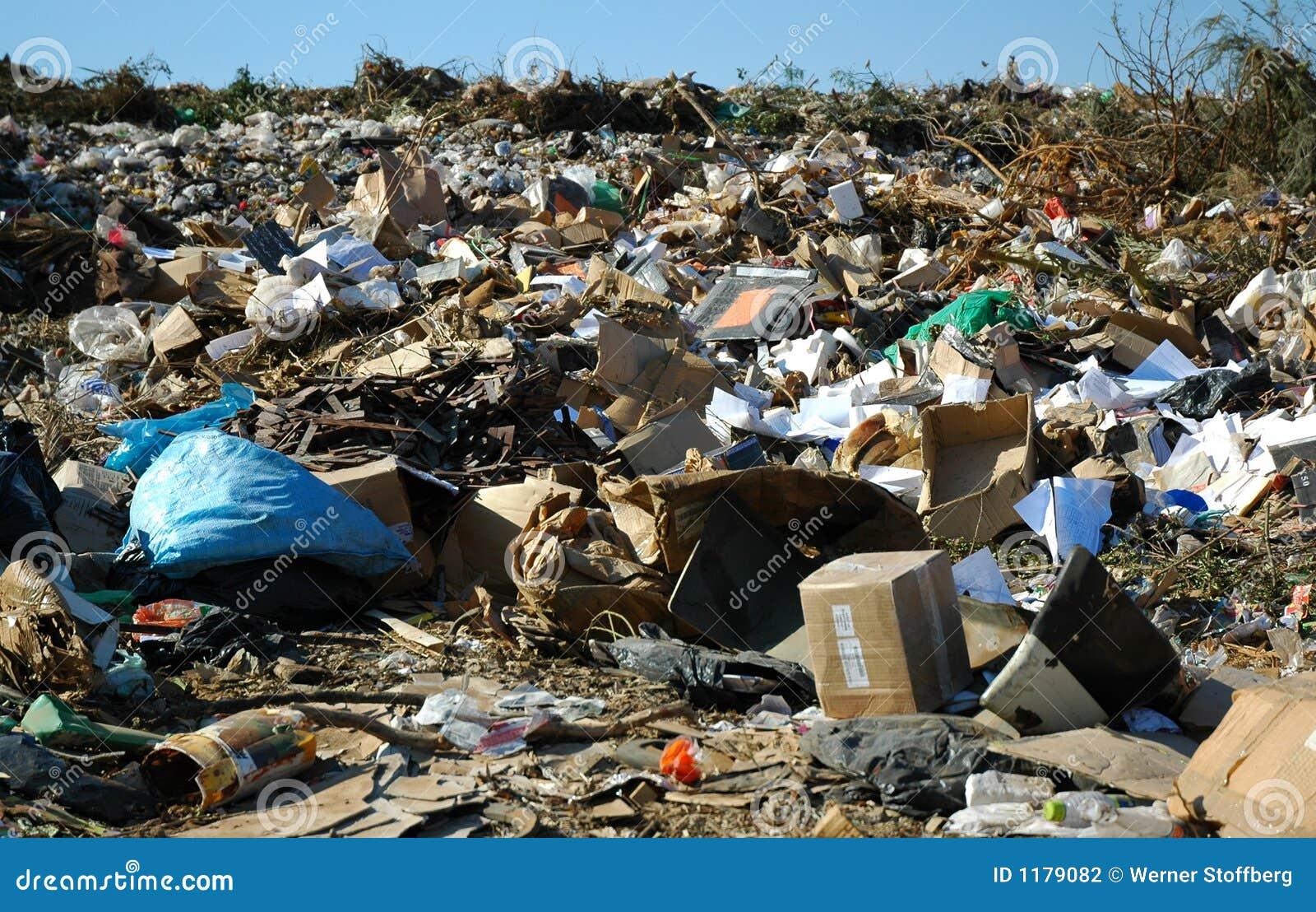 Site d évacuation des déchets